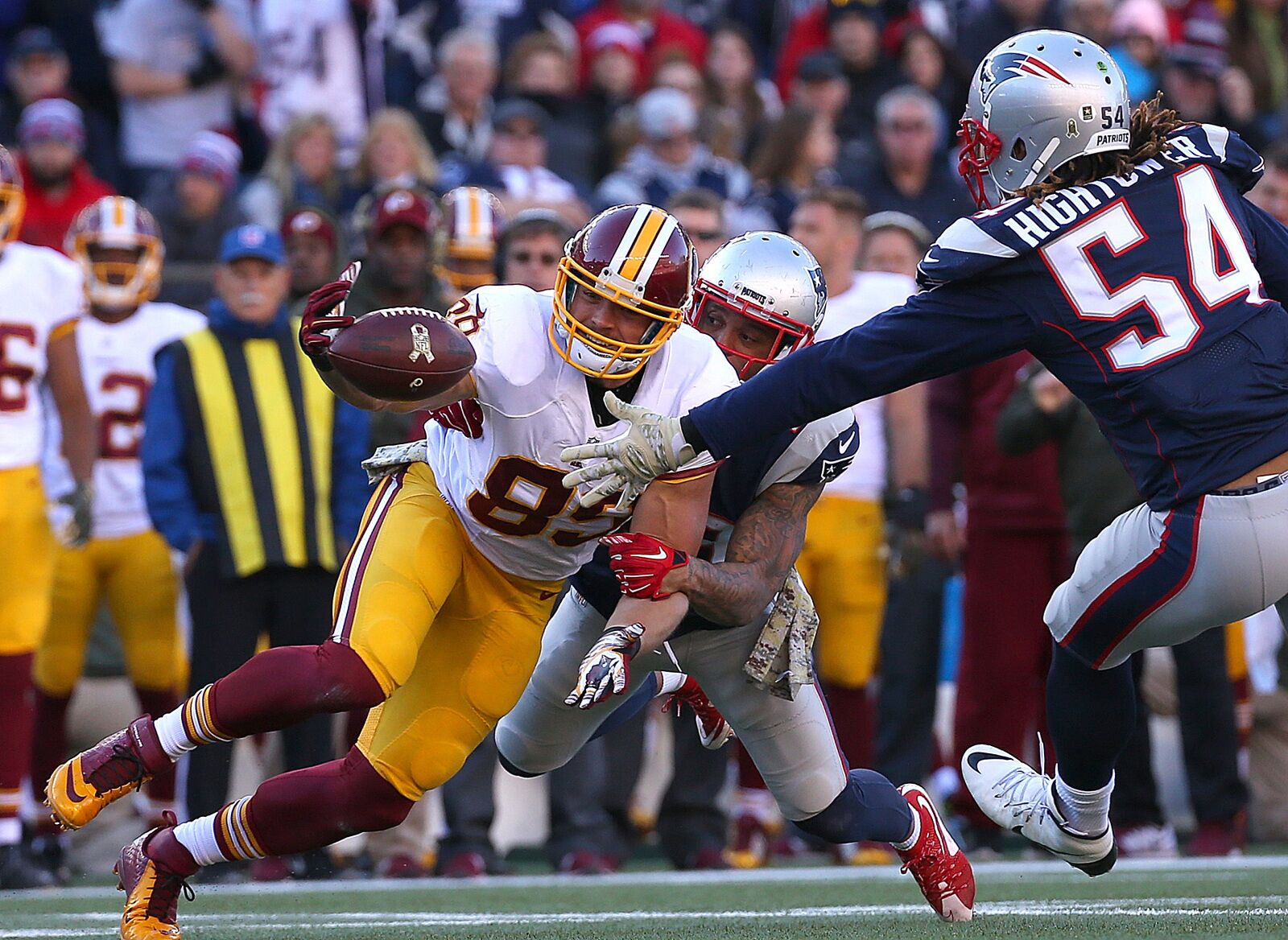 New England Patriots/Washington Redskins: What are notable injuries?