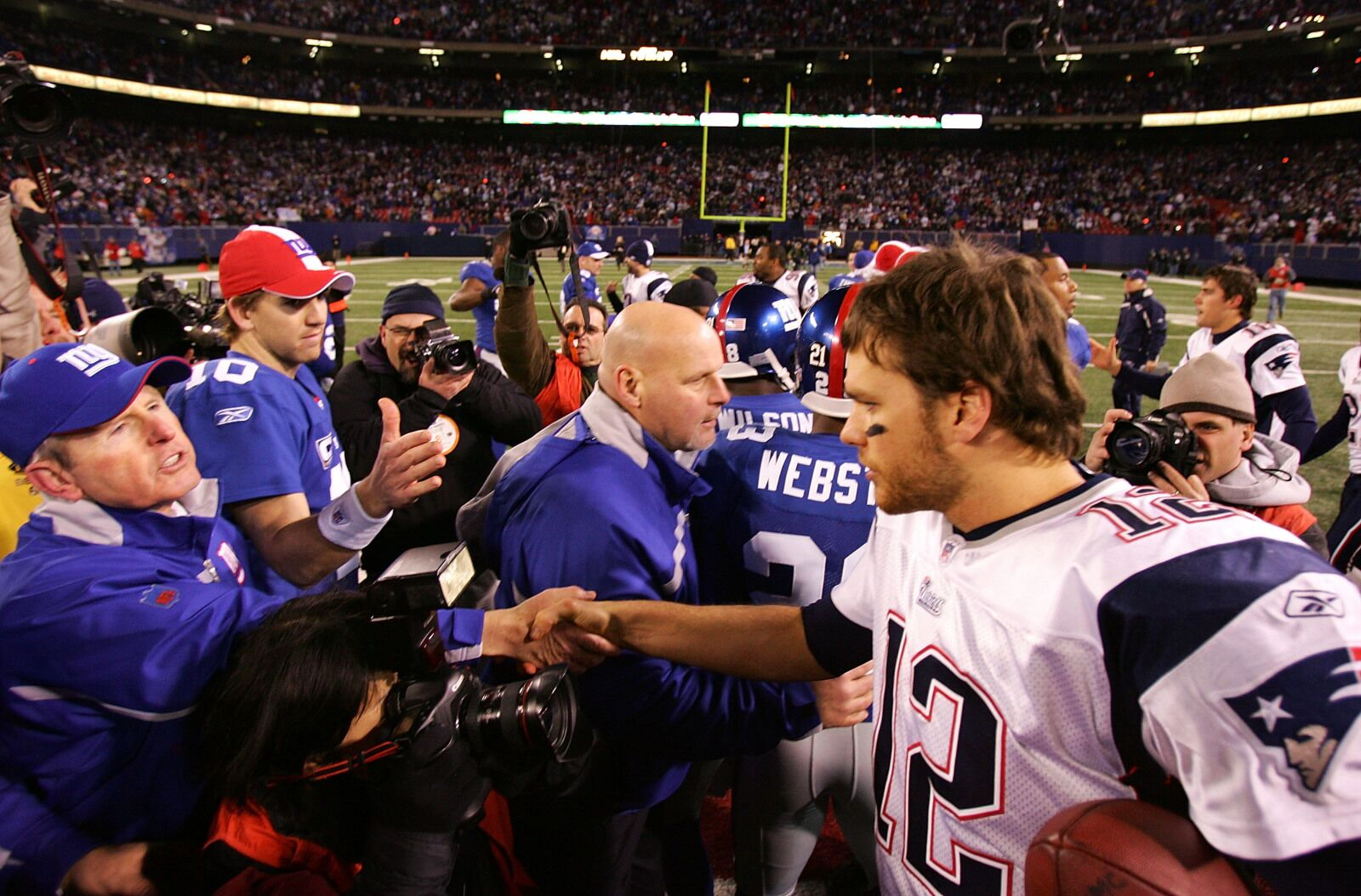 Patriots/Giants: Tom Brady, Eli Manning, and the end of an era