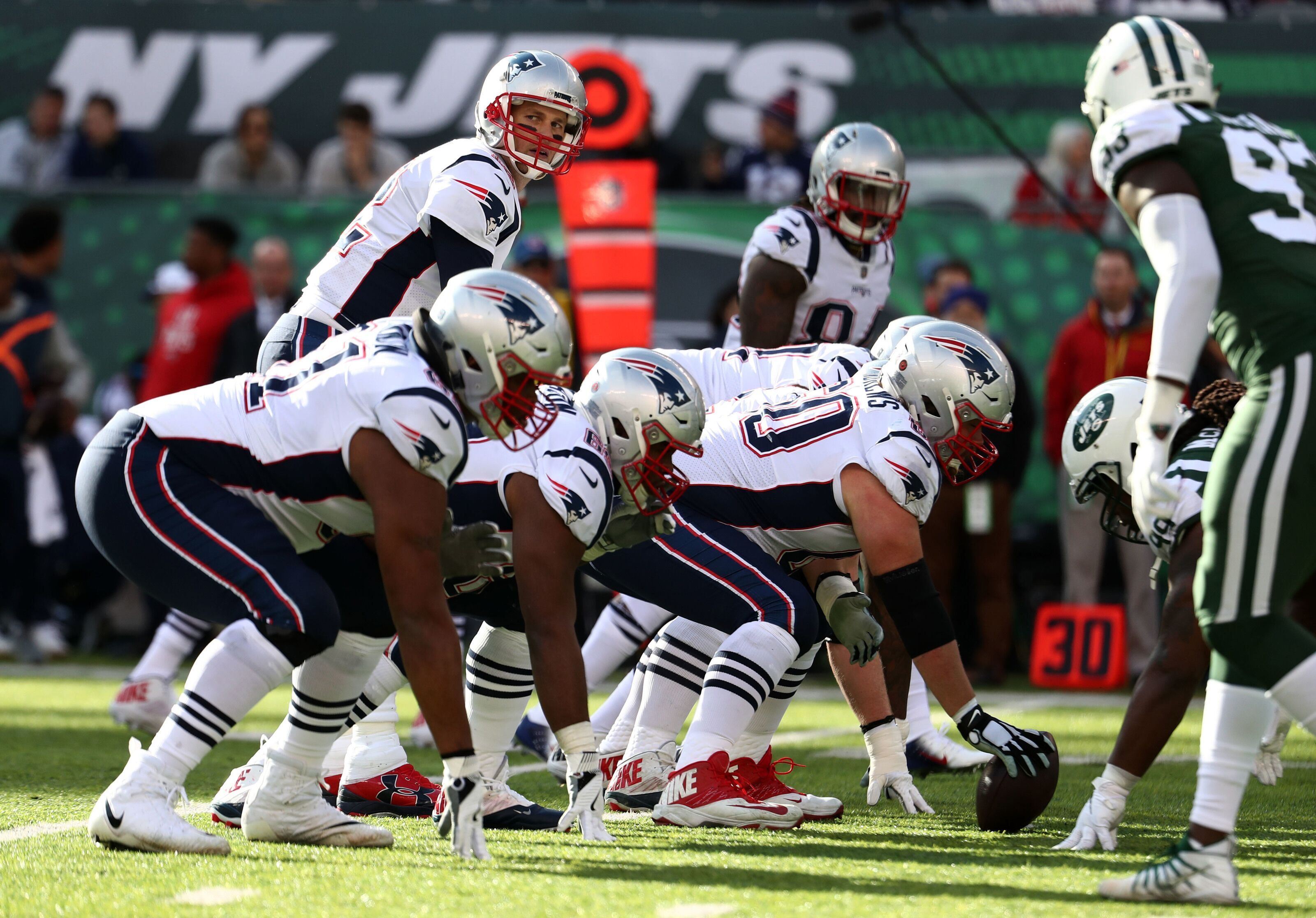New England Patriots offensive line ranked in top-10