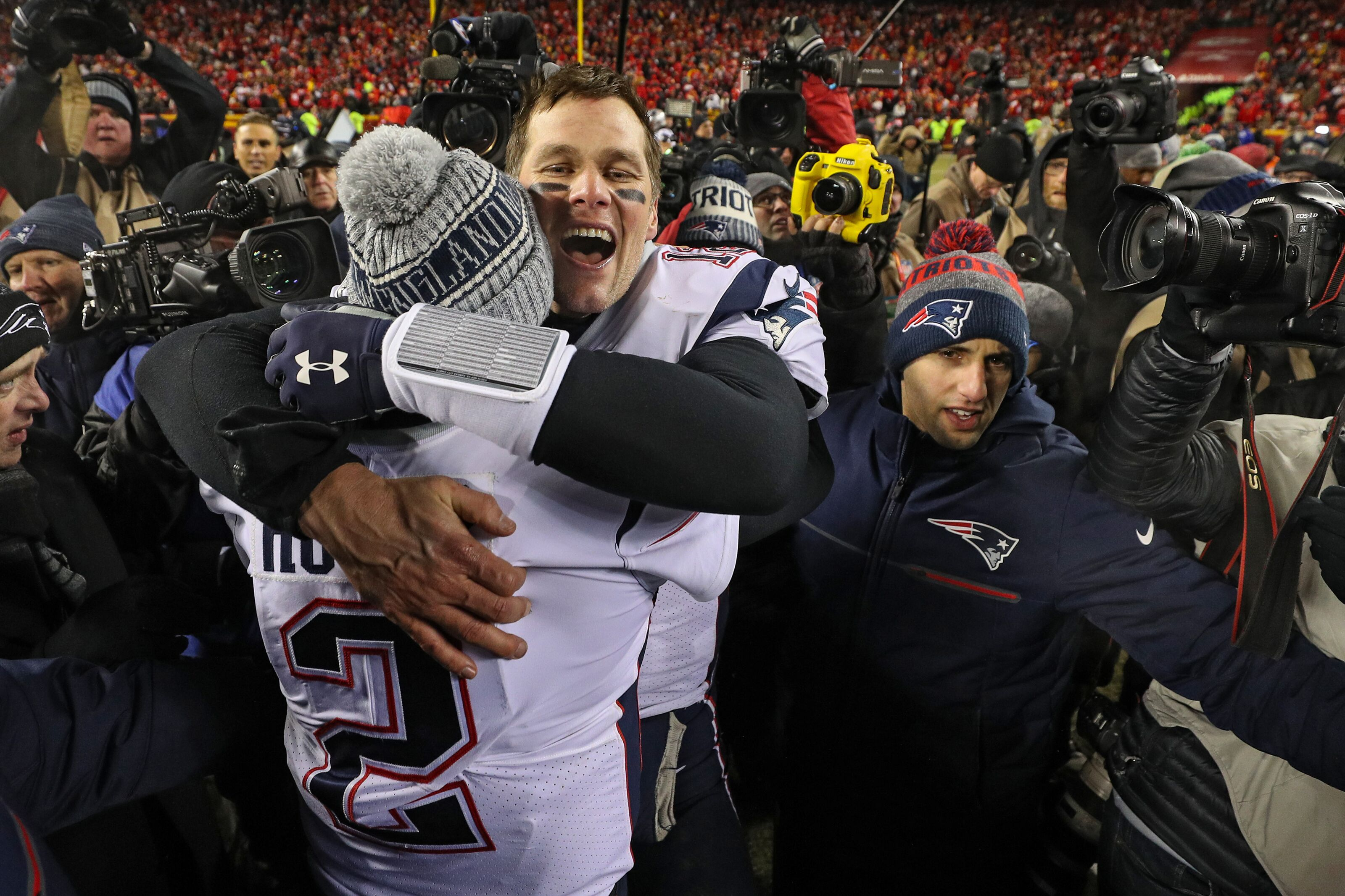 AFC Championship Game  Patriots hold off Chiefs 4977efe10