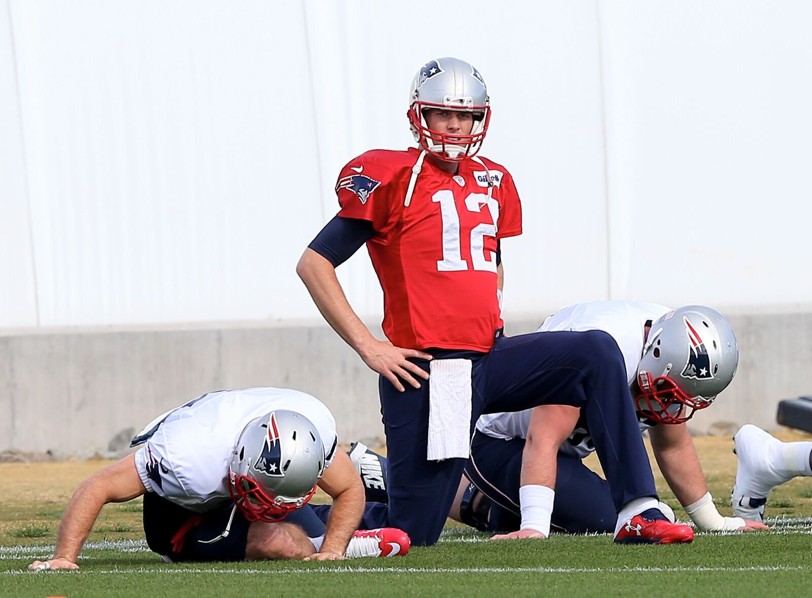 Tom Brady talks about bulking up and his future in football