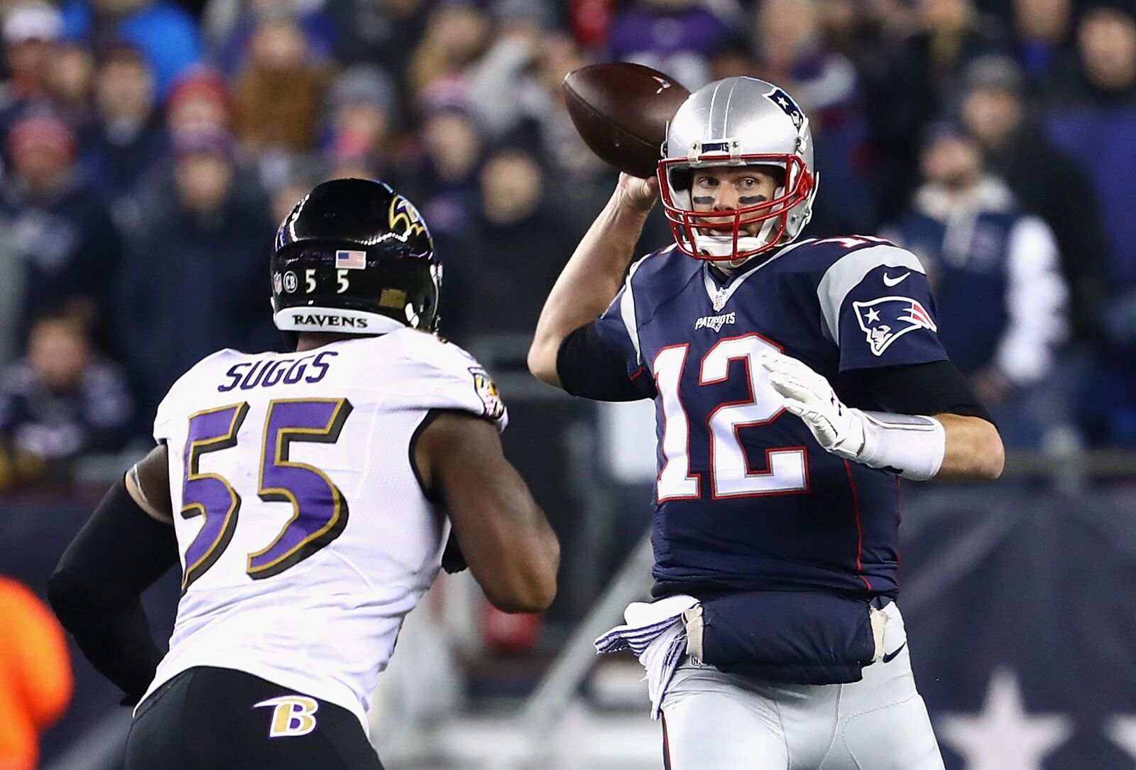 402c398f8 Tom Brady s remarkable longevity downplayed by Terrell Suggs