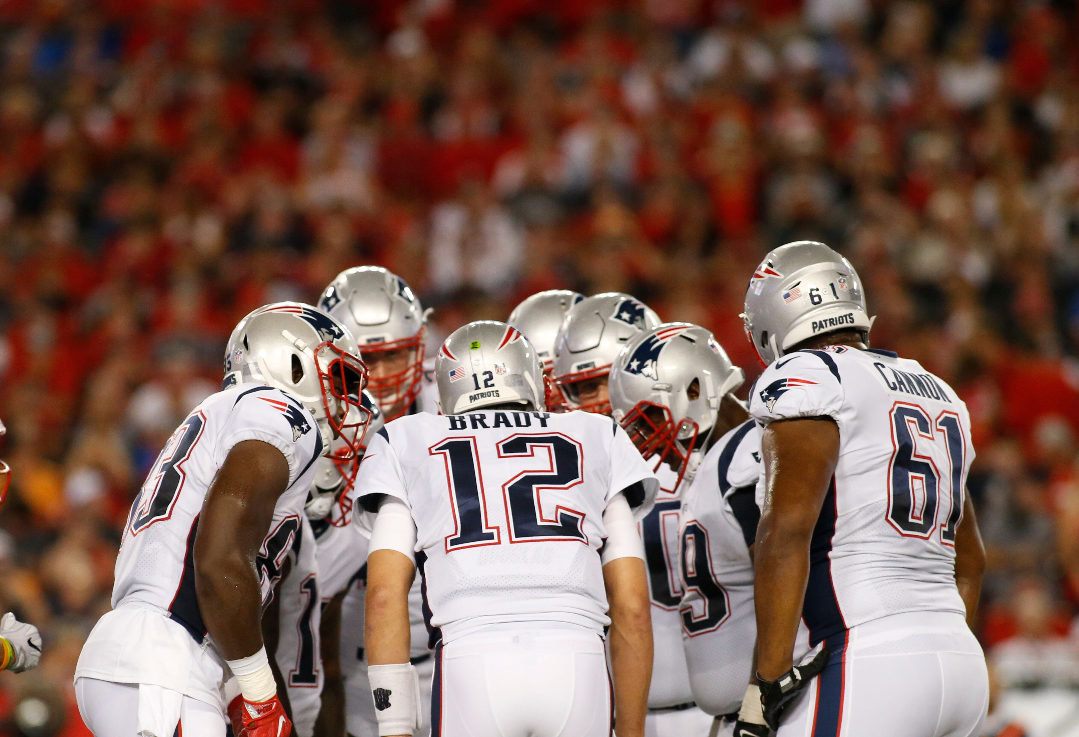 New England Patriots: The struggling offensive line