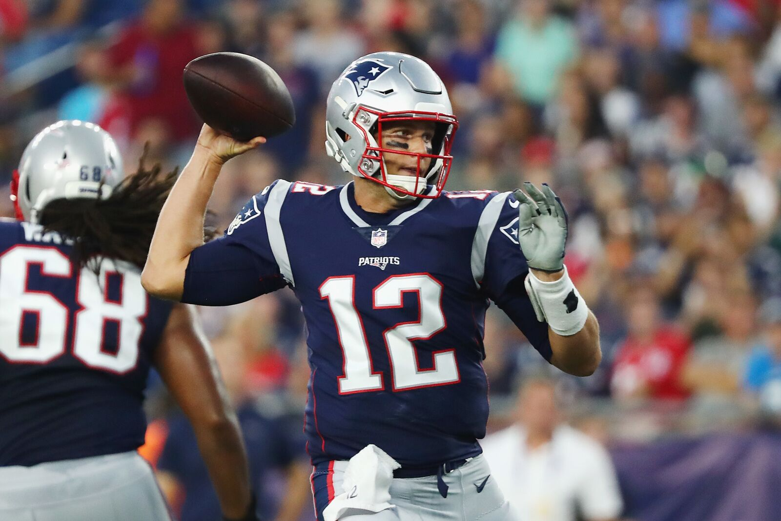 84b3e8488 New England Patriots  Fantasy projection for Tom Brady in Week 1