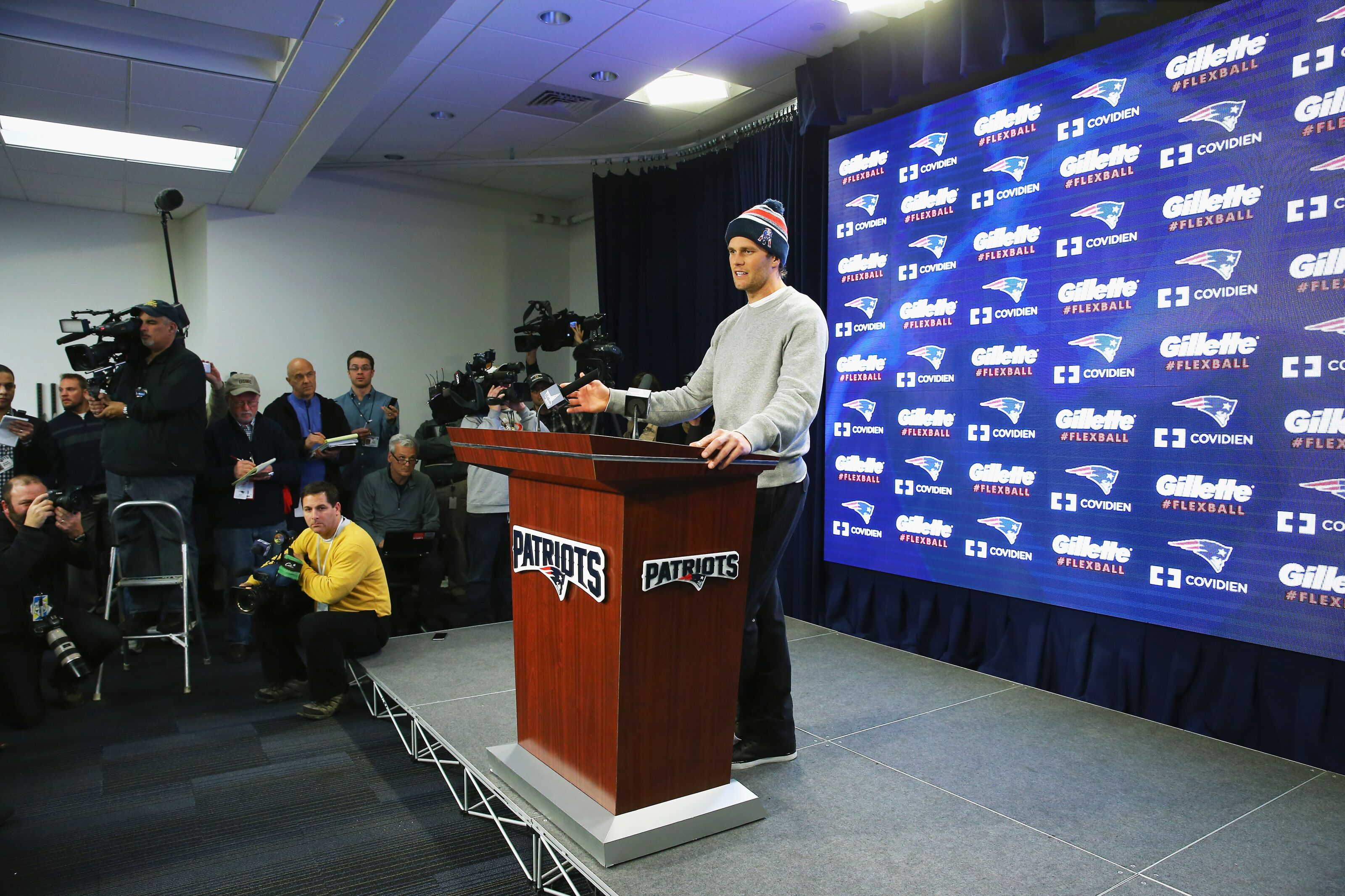 New England Patriots: The Tom Brady saga created by the media