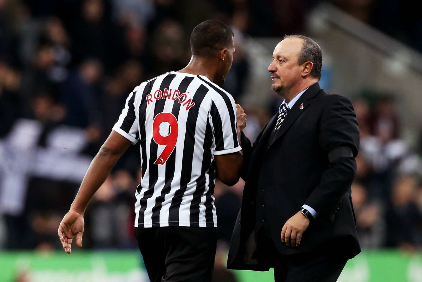 Rondon played well for Rafa after their Newcastle departures