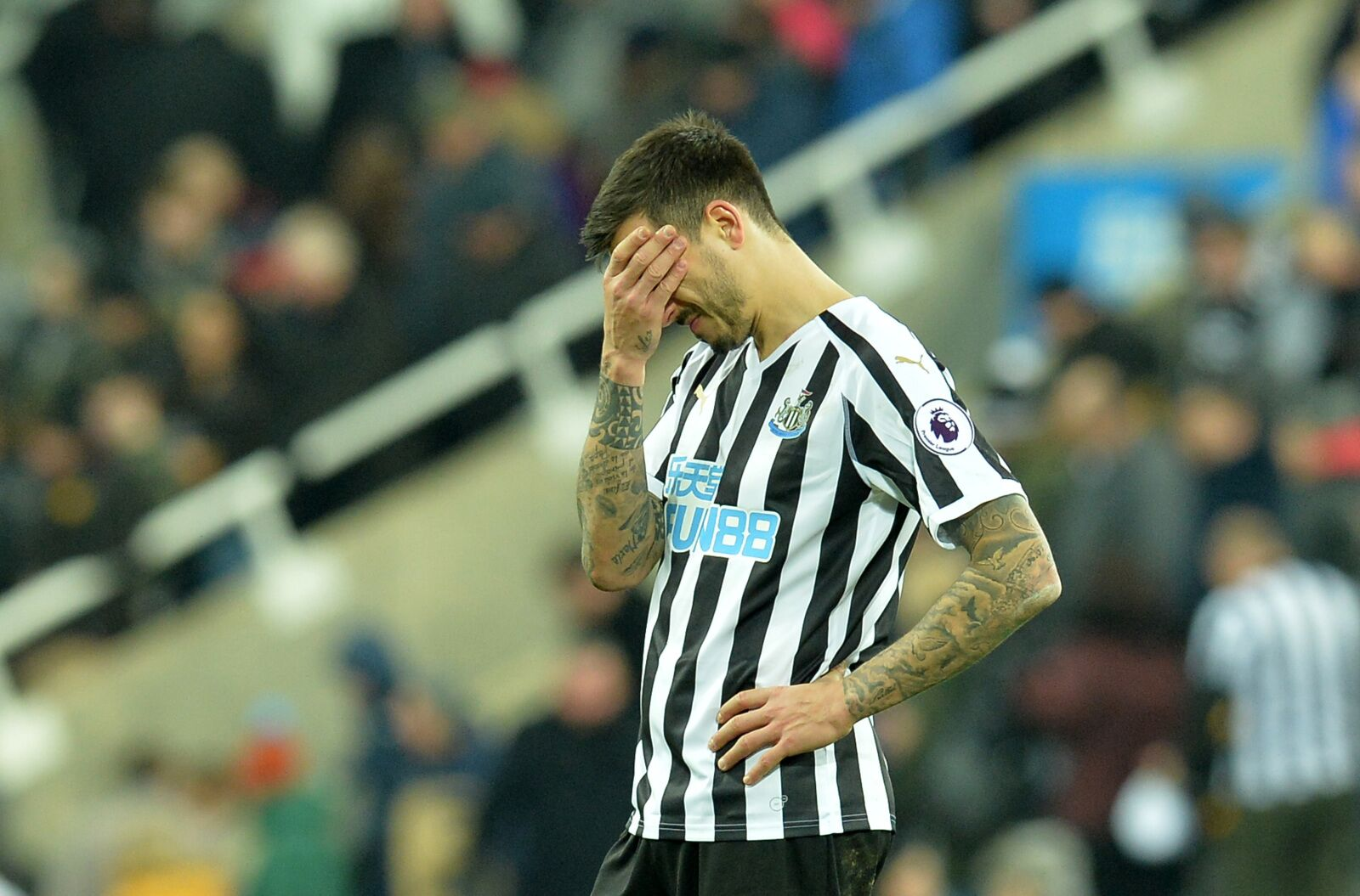 The Joselu era officially ends at Newcastle United