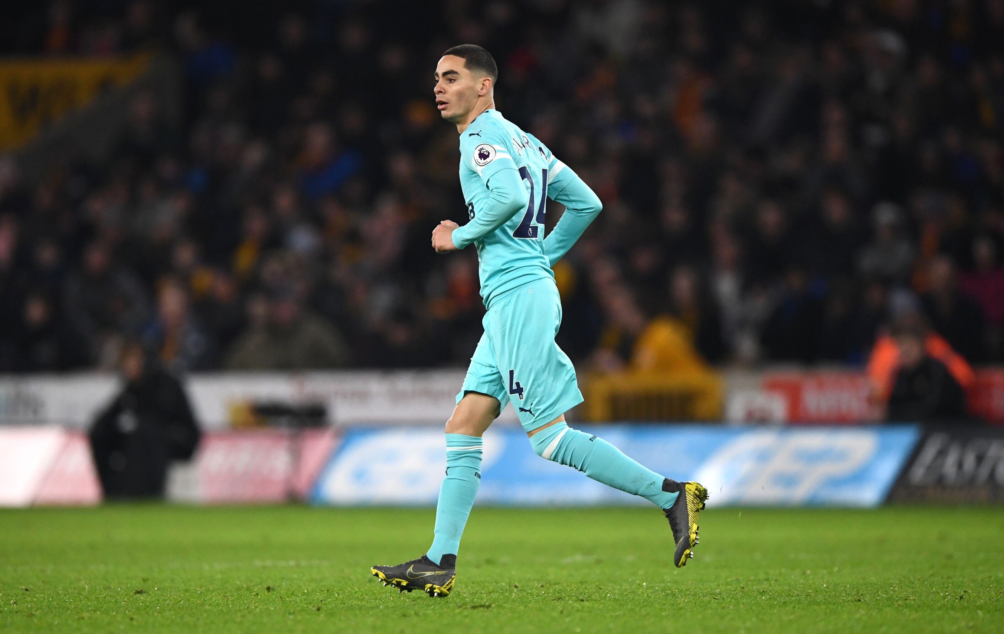 Miguel Almiron must start vs. Huddersfield Town