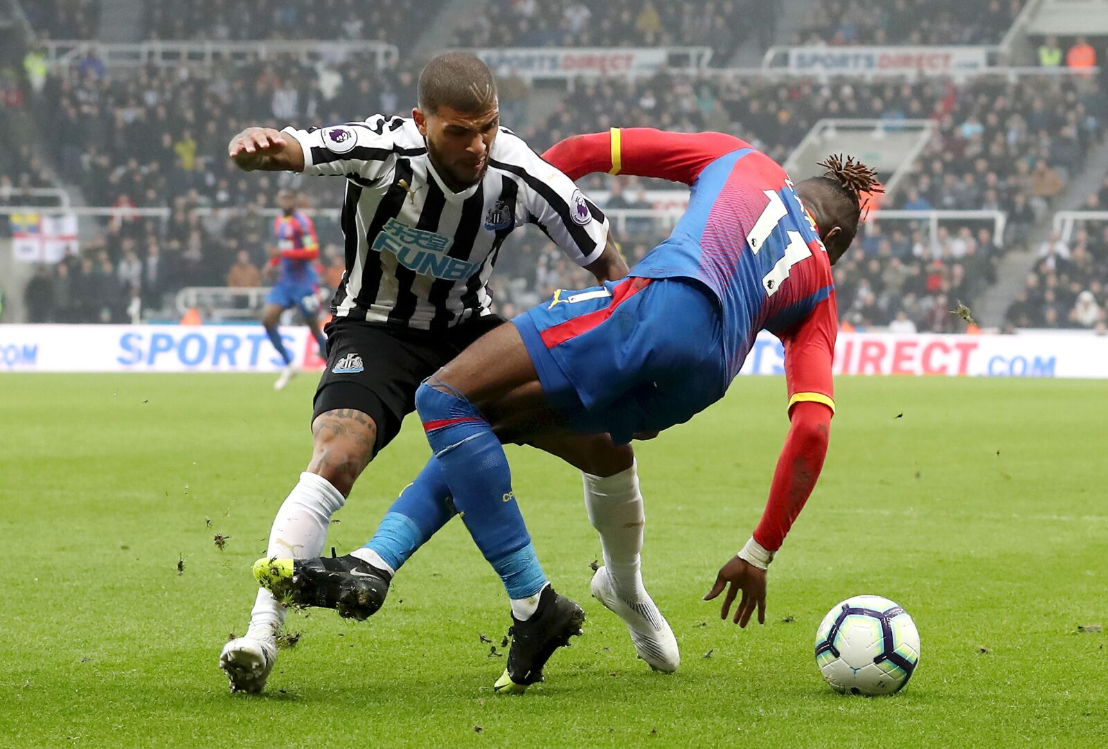 Looking back on the 2018/19 Newcastle-Crystal Palace matches