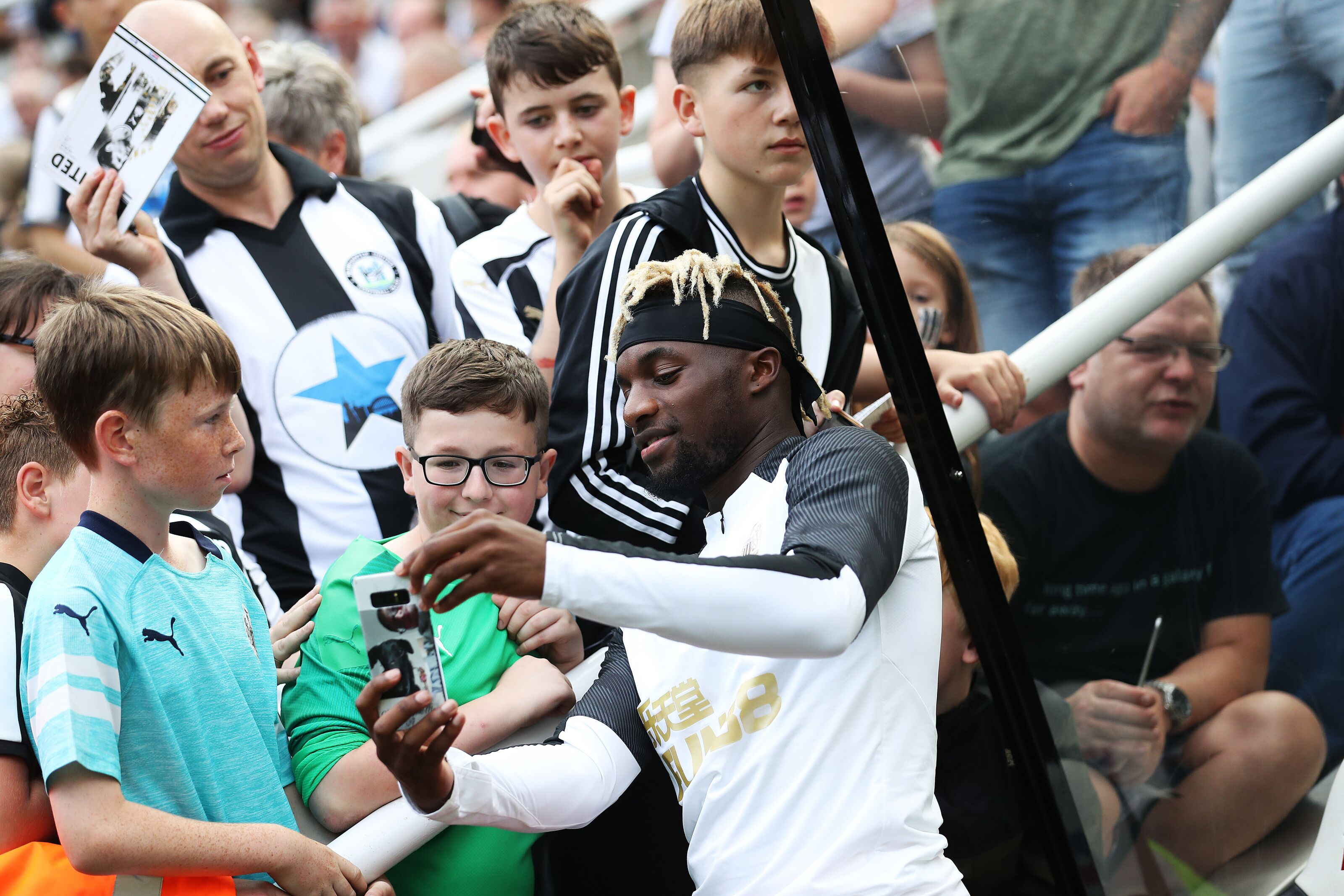 ASM's accessibility makes him a Newcastle United fan favorite already