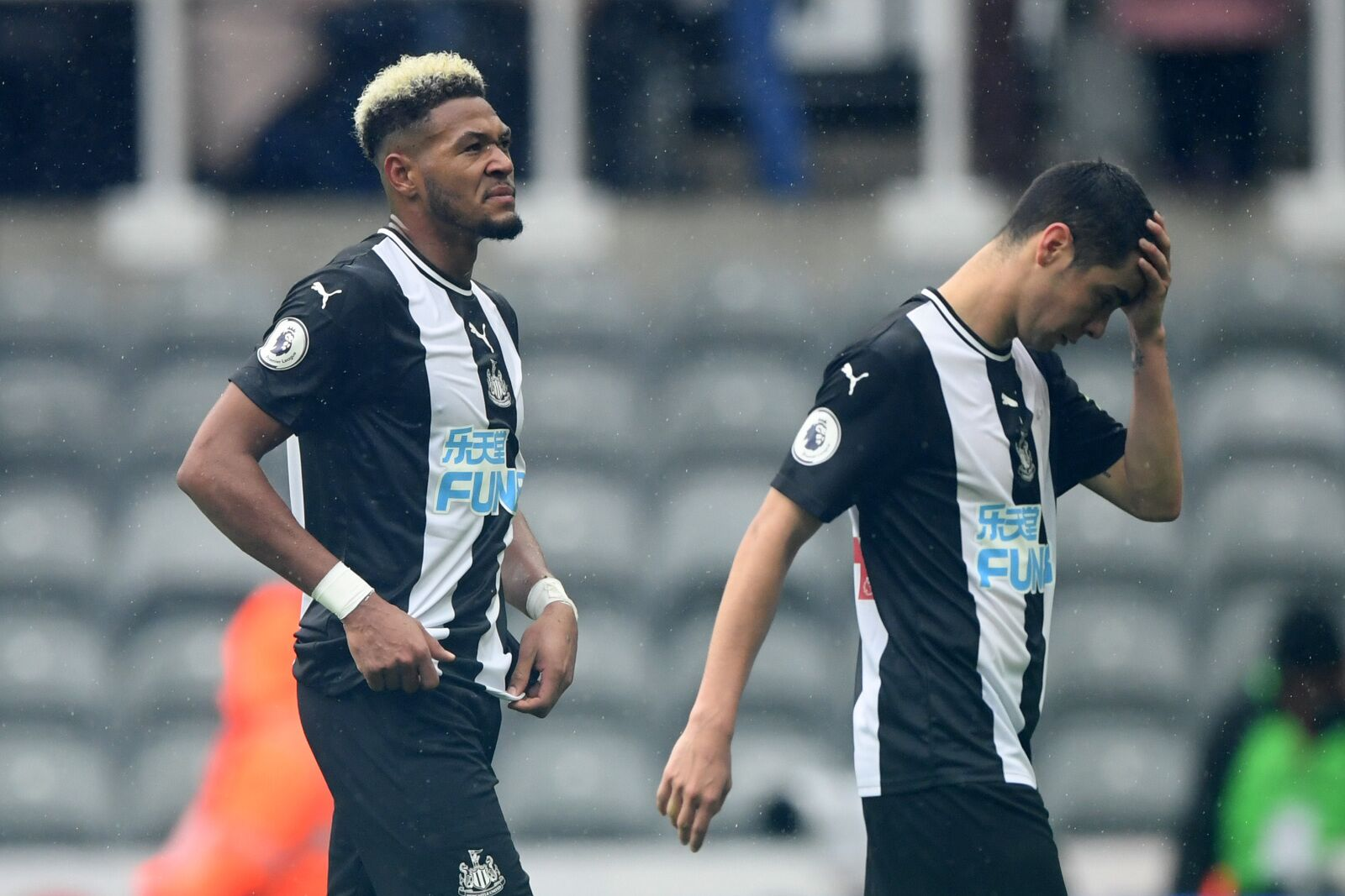 Newcastle United's dismal attack by the numbers