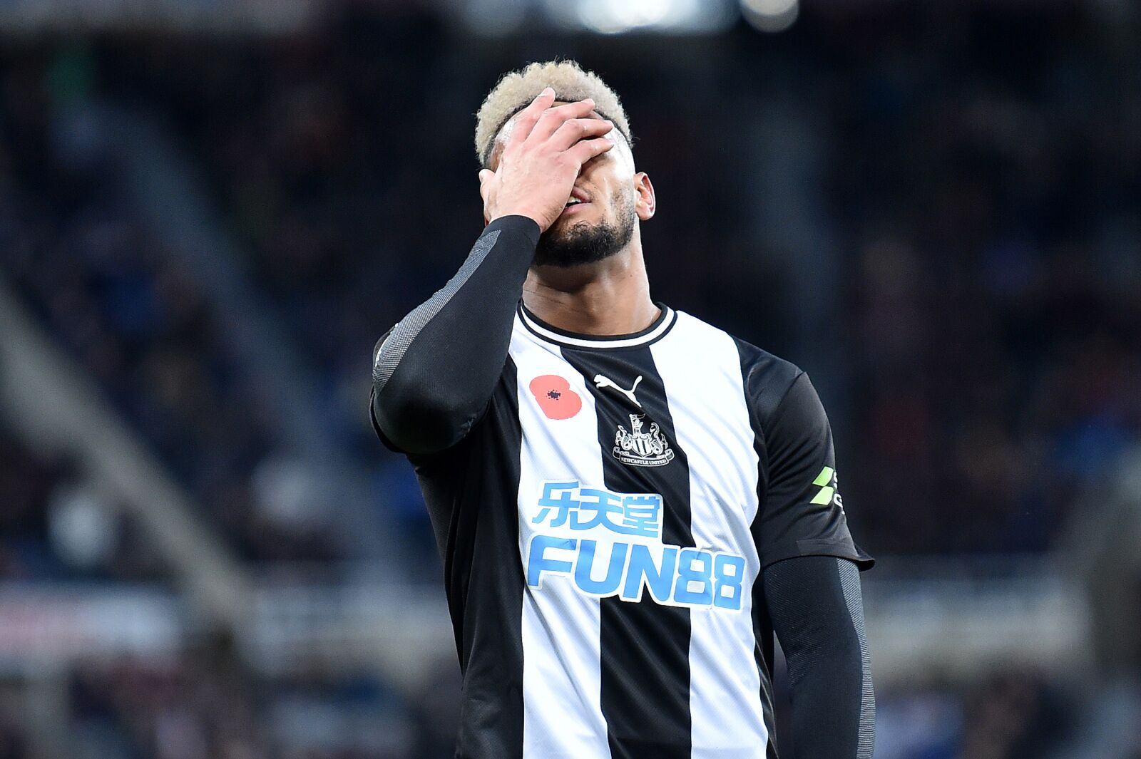 When might Joelinton get benched at Newcastle United?