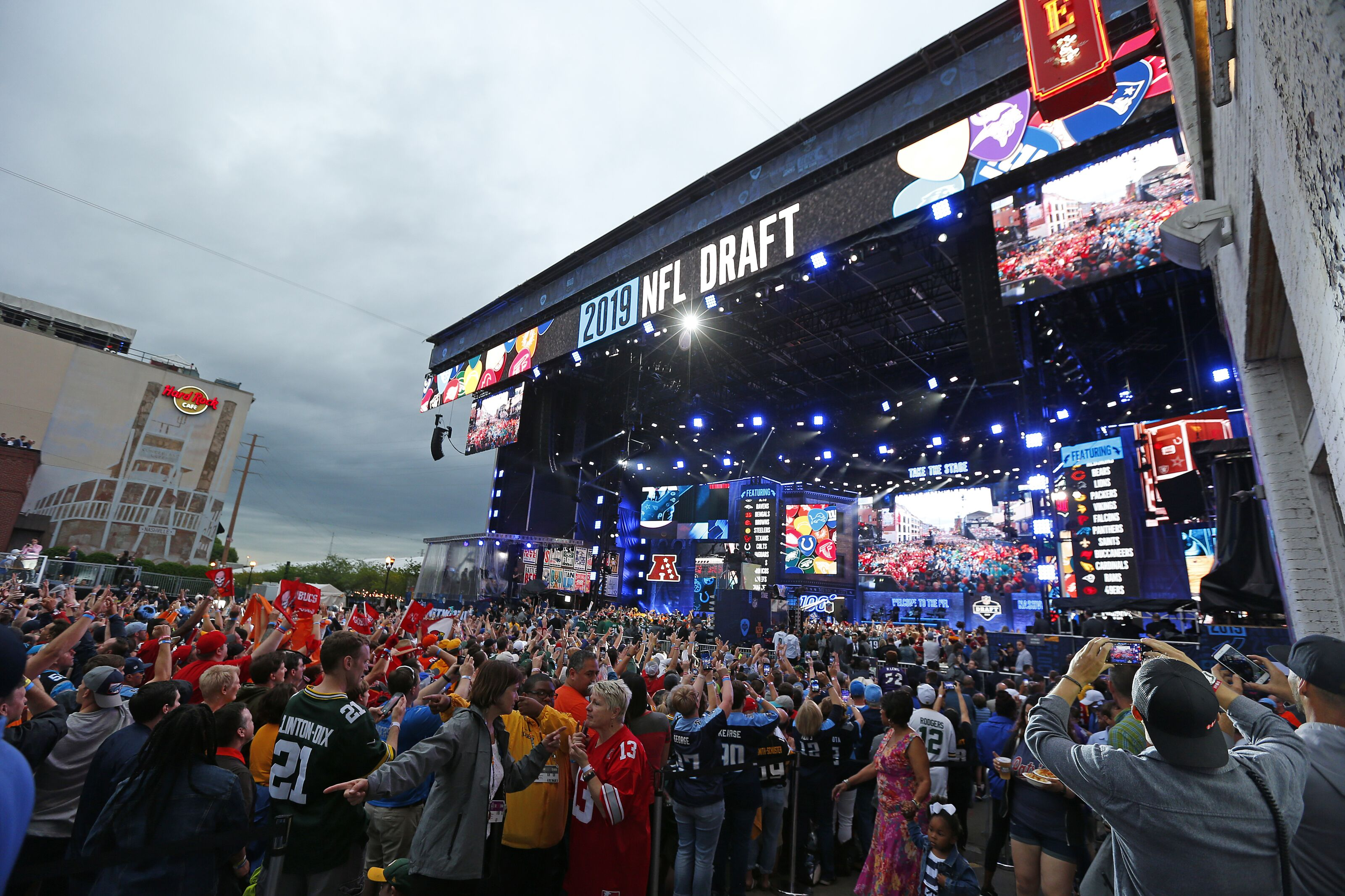 Nfl Combine 2020 Events.2020 Nfl Draft In Vegas Will Broadcast On Abc Espn And Nfl