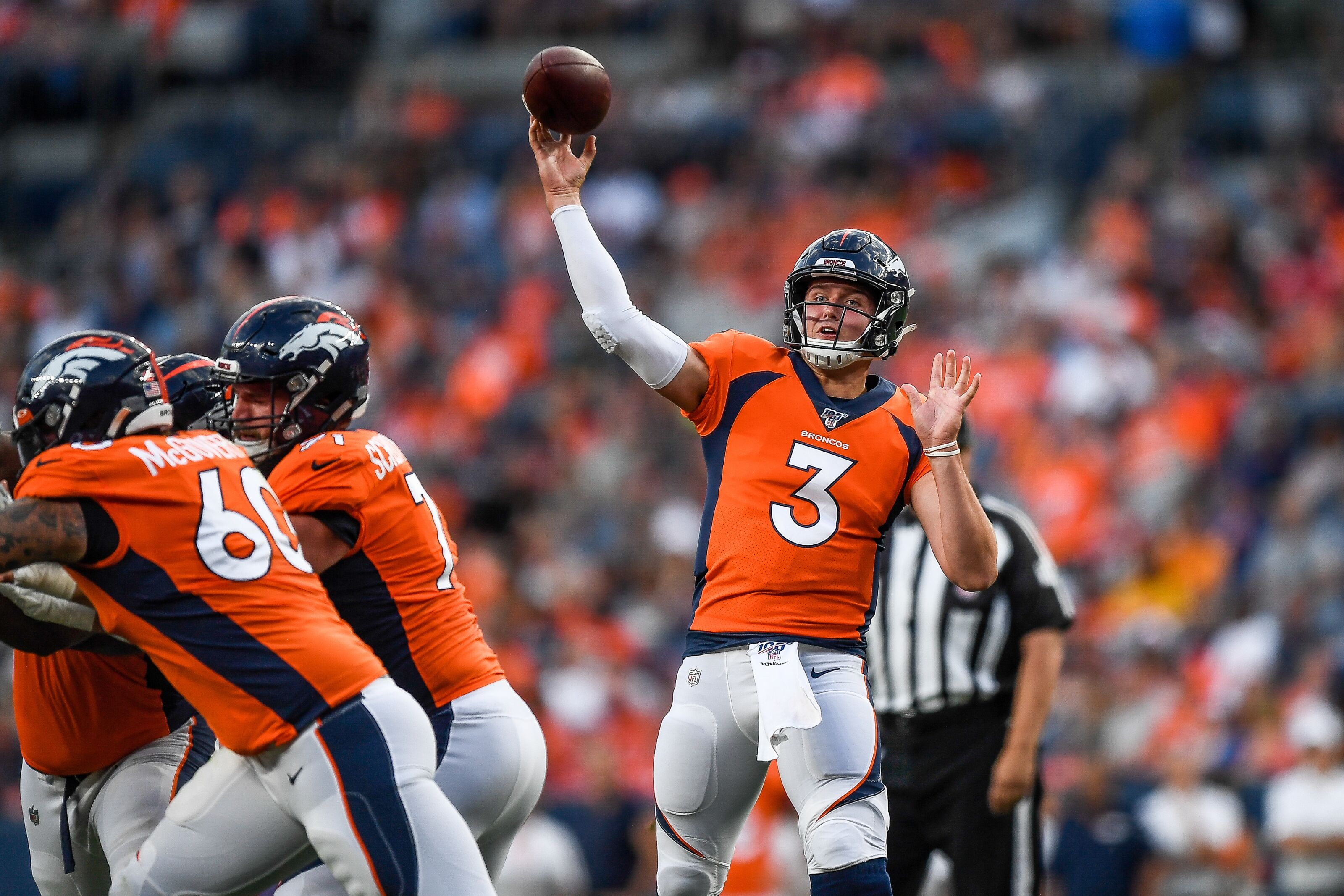 It's Drew Lock time for the Denver Broncos vs. Chargers