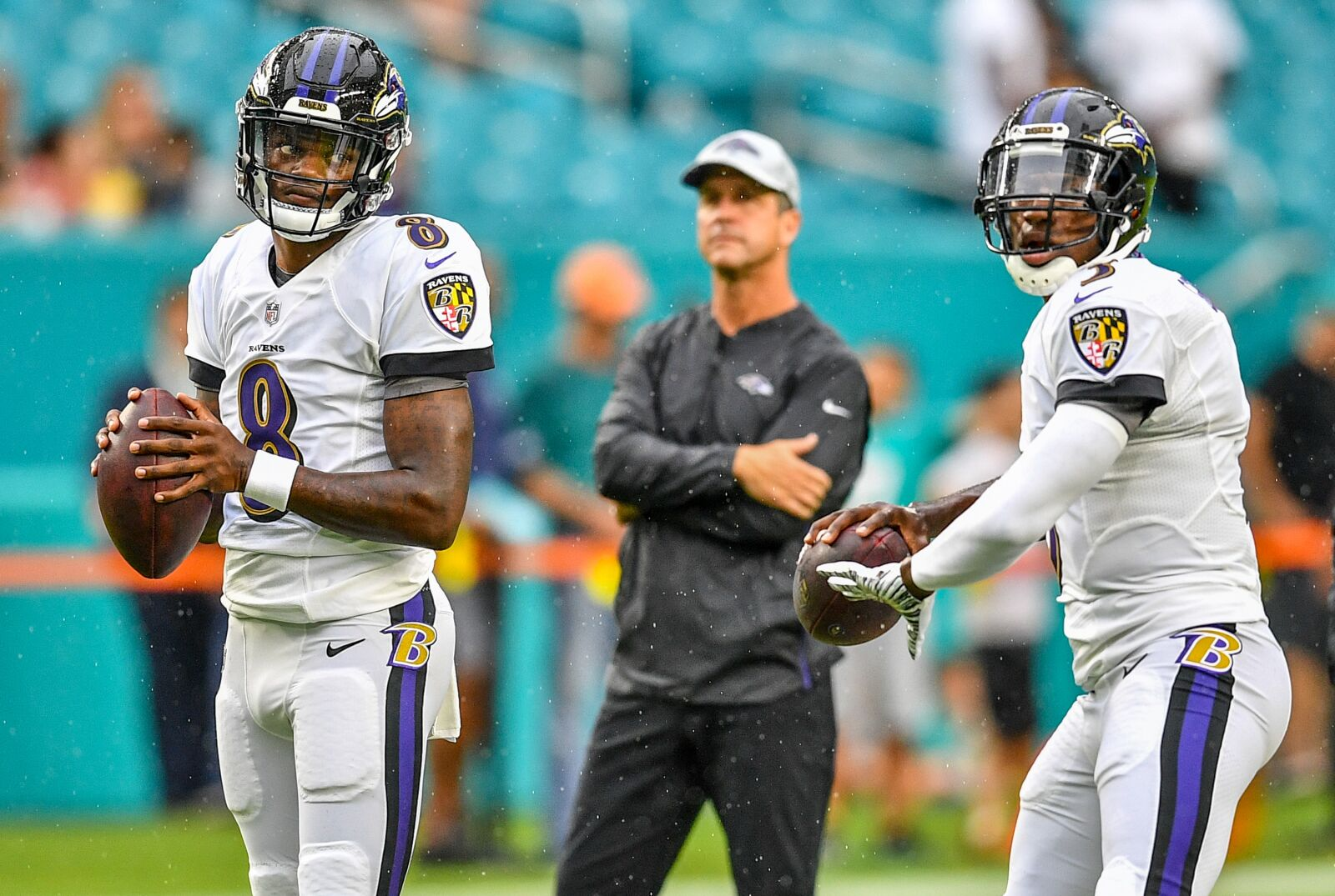 Baltimore Ravens tale of two QBs: Lamar Jackson and Robert Griffin III