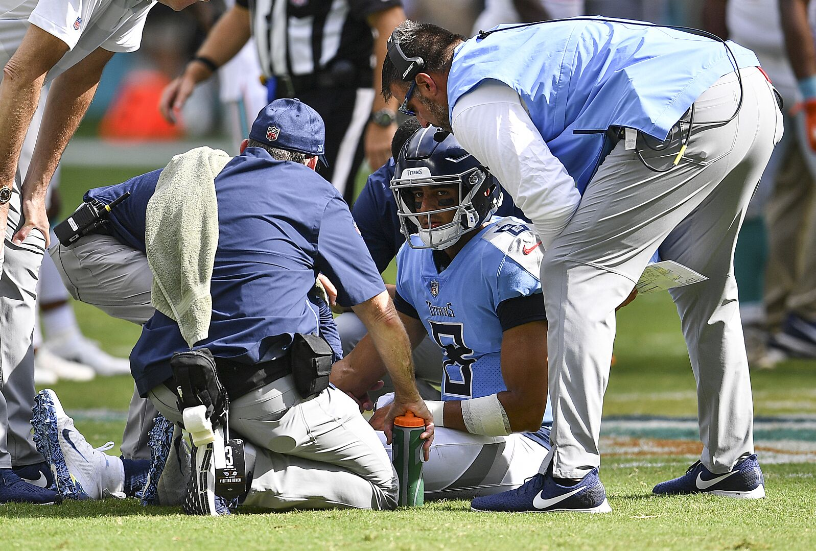 f0d91128 Tennessee Titans: Is Marcus Mariota's seat getting hot?