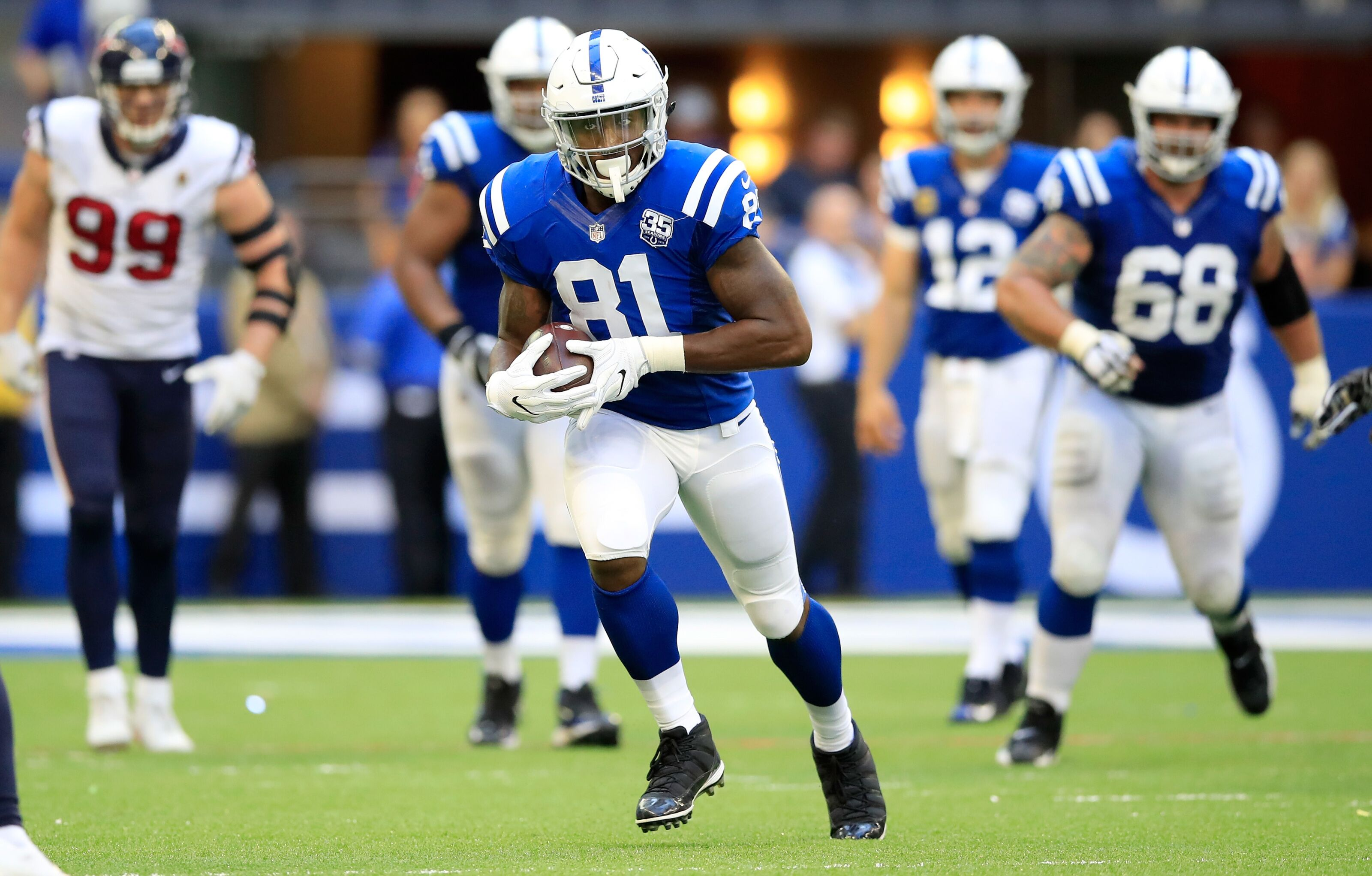 Indianapolis Colts: Tight end Mo Alie-Cox primed for breakout season
