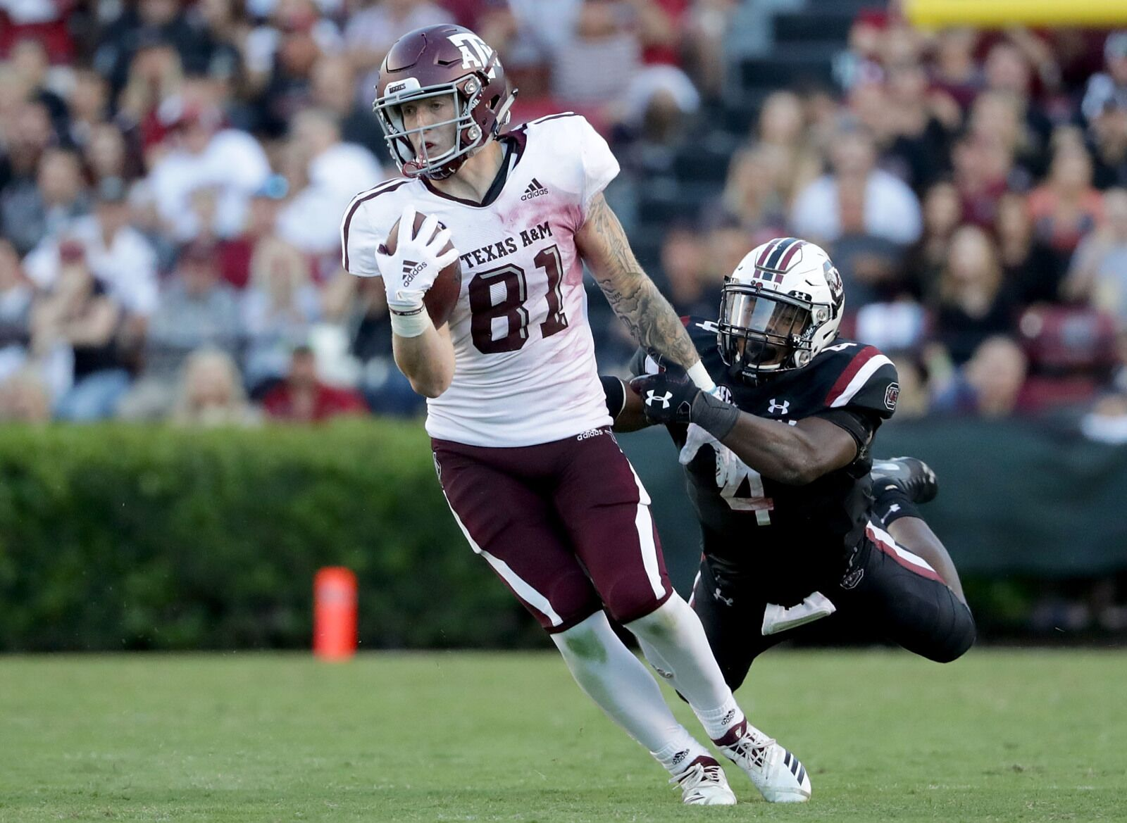 Packers TE Jace Sternberger will be a popular fantasy football pick