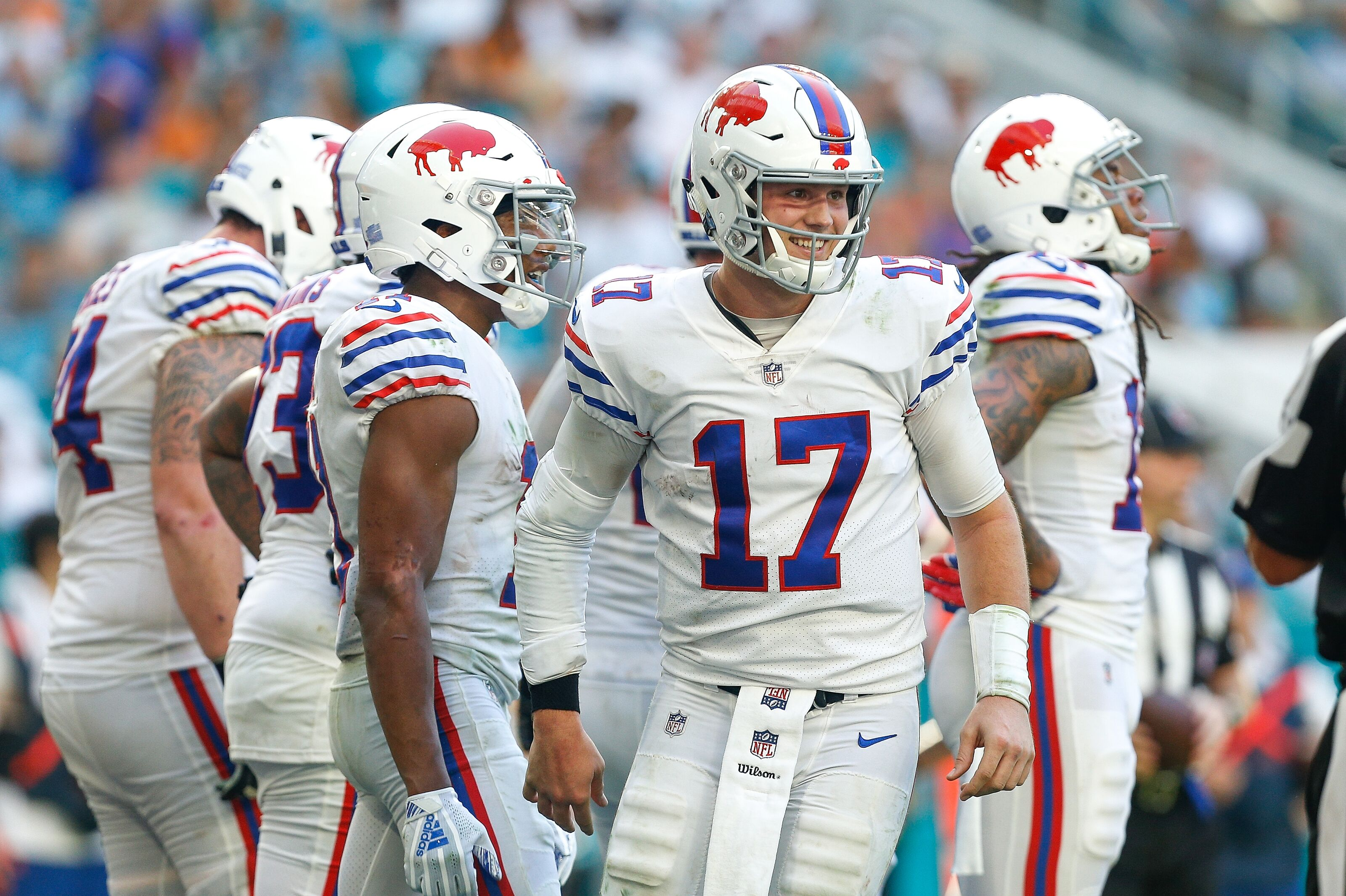 Buffalo Bills have found a group of receivers who fit Josh