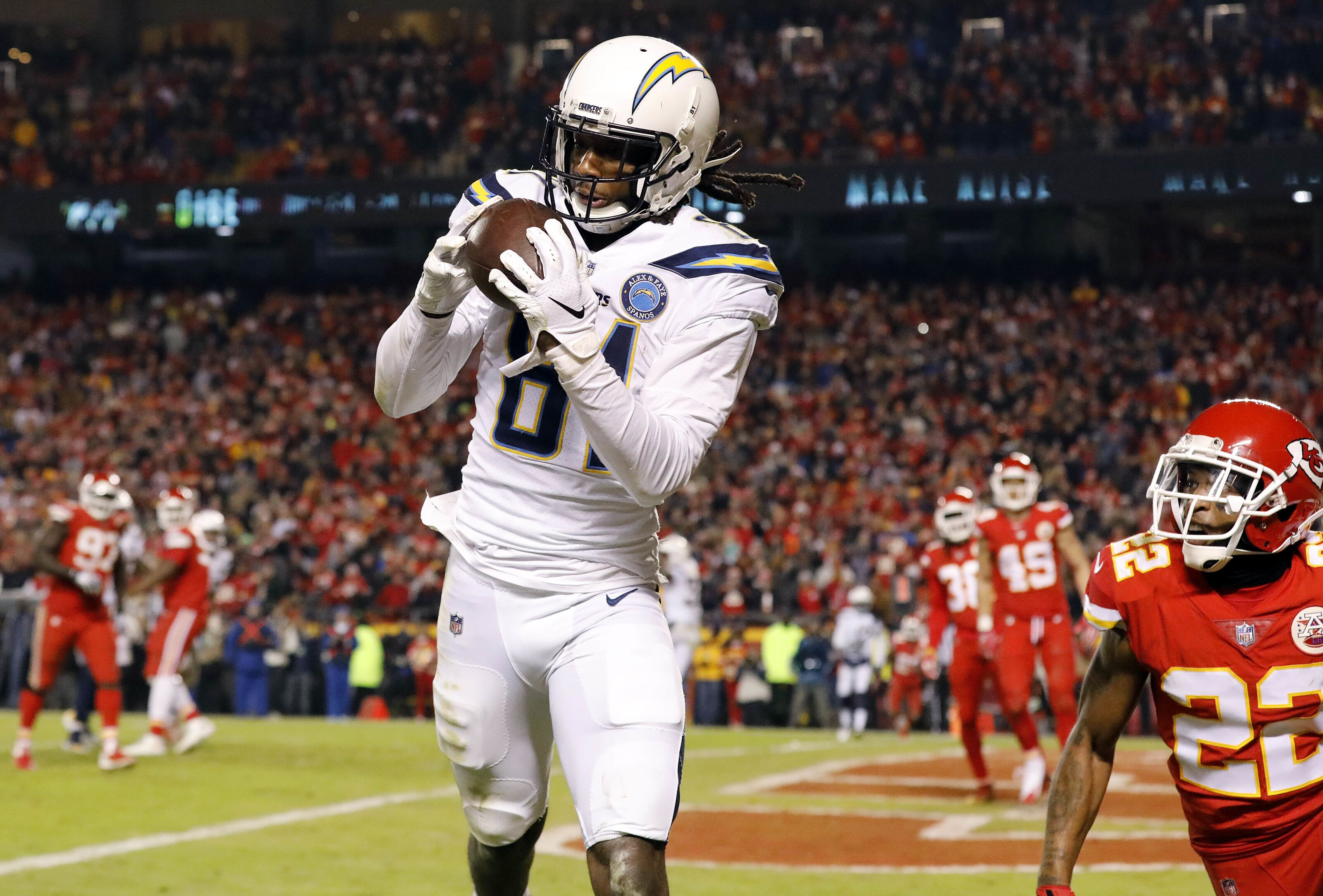 Los Angeles Chargers  Mike Williams has crazy efficiency in 2018 ba1b341c1