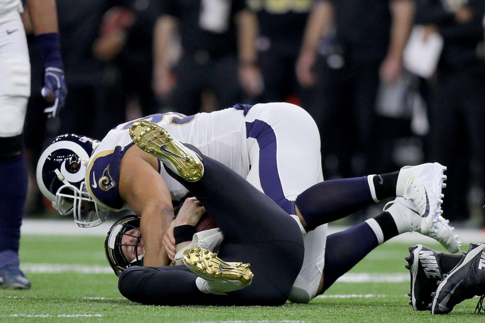 New Orleans Saints: Drew Brees suddenly feels Brett Favre's pain