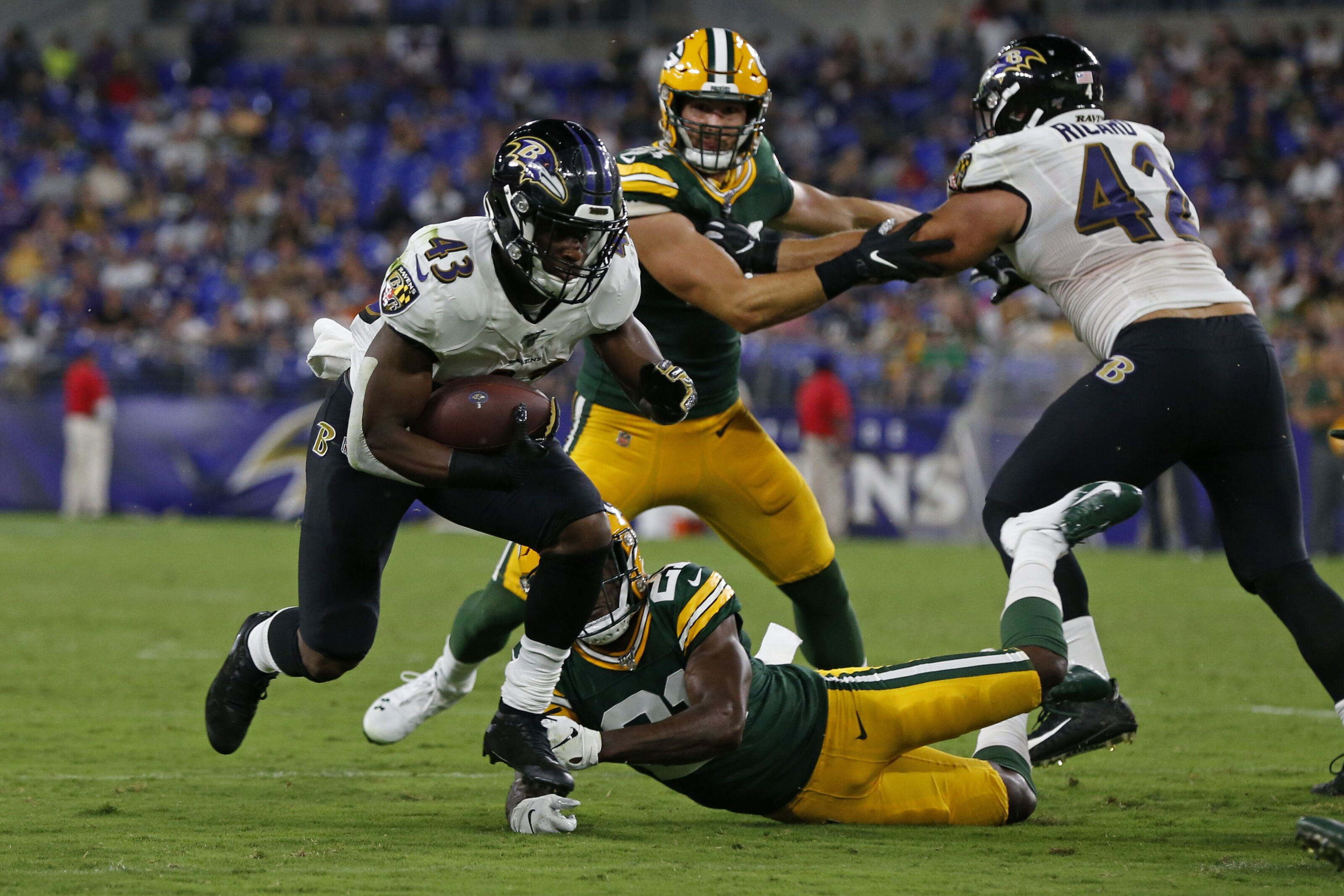 Baltimore Ravens: Justice Hill making a strong case for a large role