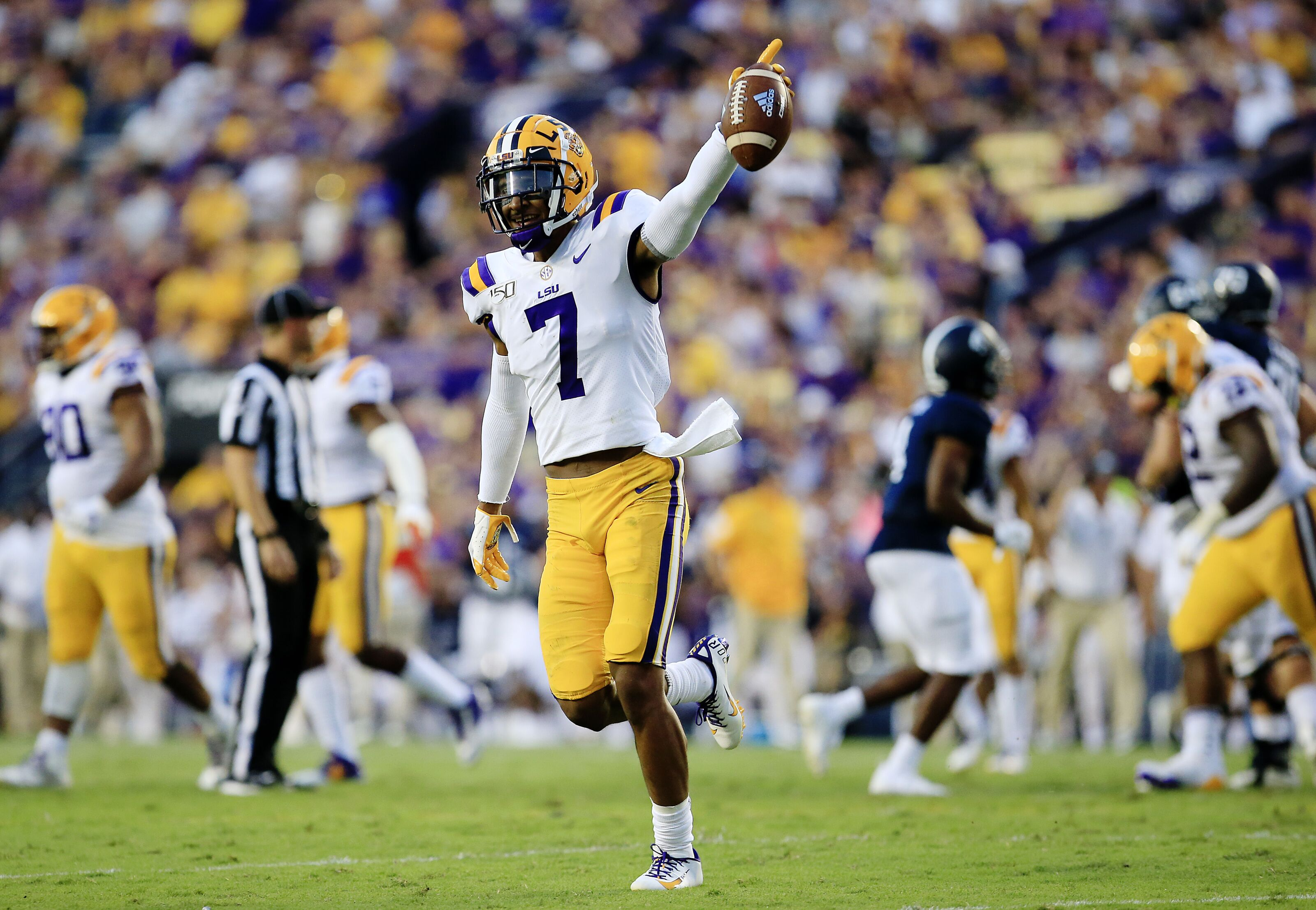 LSU safety Grant Delpit officially declares for 2020 NFL Draft