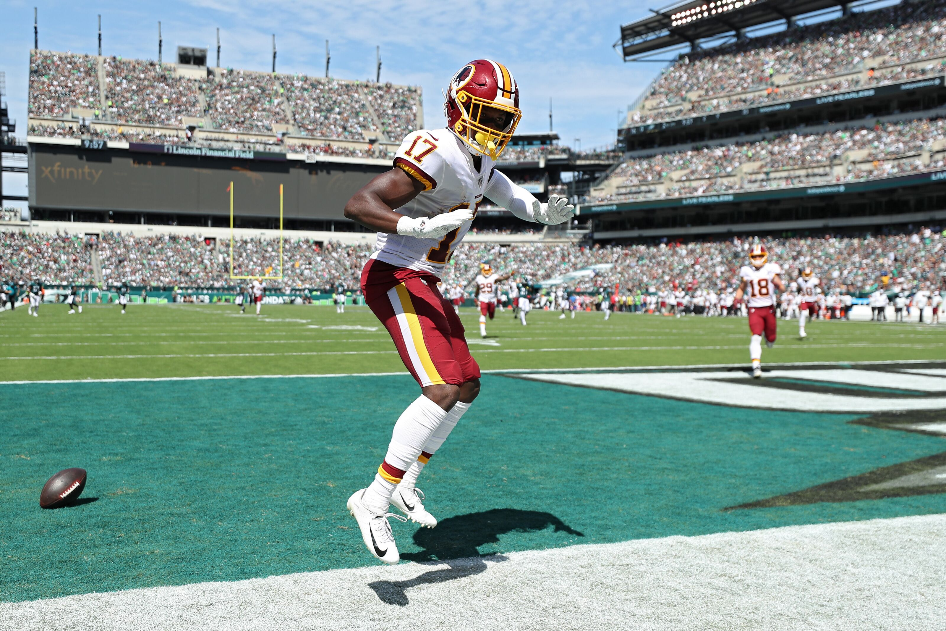 wholesale dealer cdfa4 27273 Washington Redskins: Terry McLaurin is tearing it up through ...