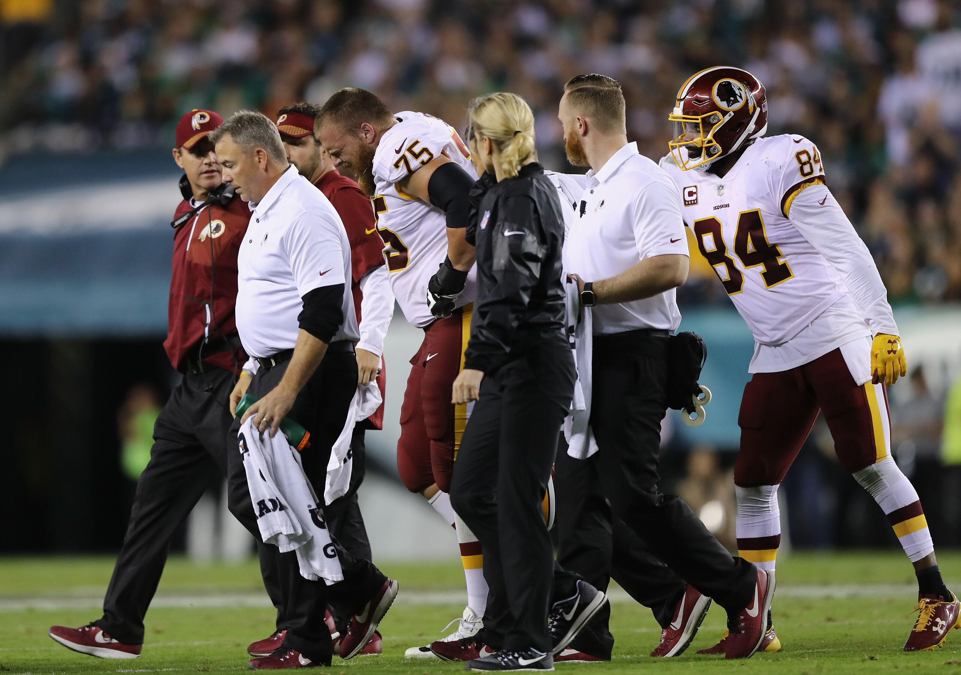 90f116f8b Washington Redskins ugly loss highlights lack of depth up front