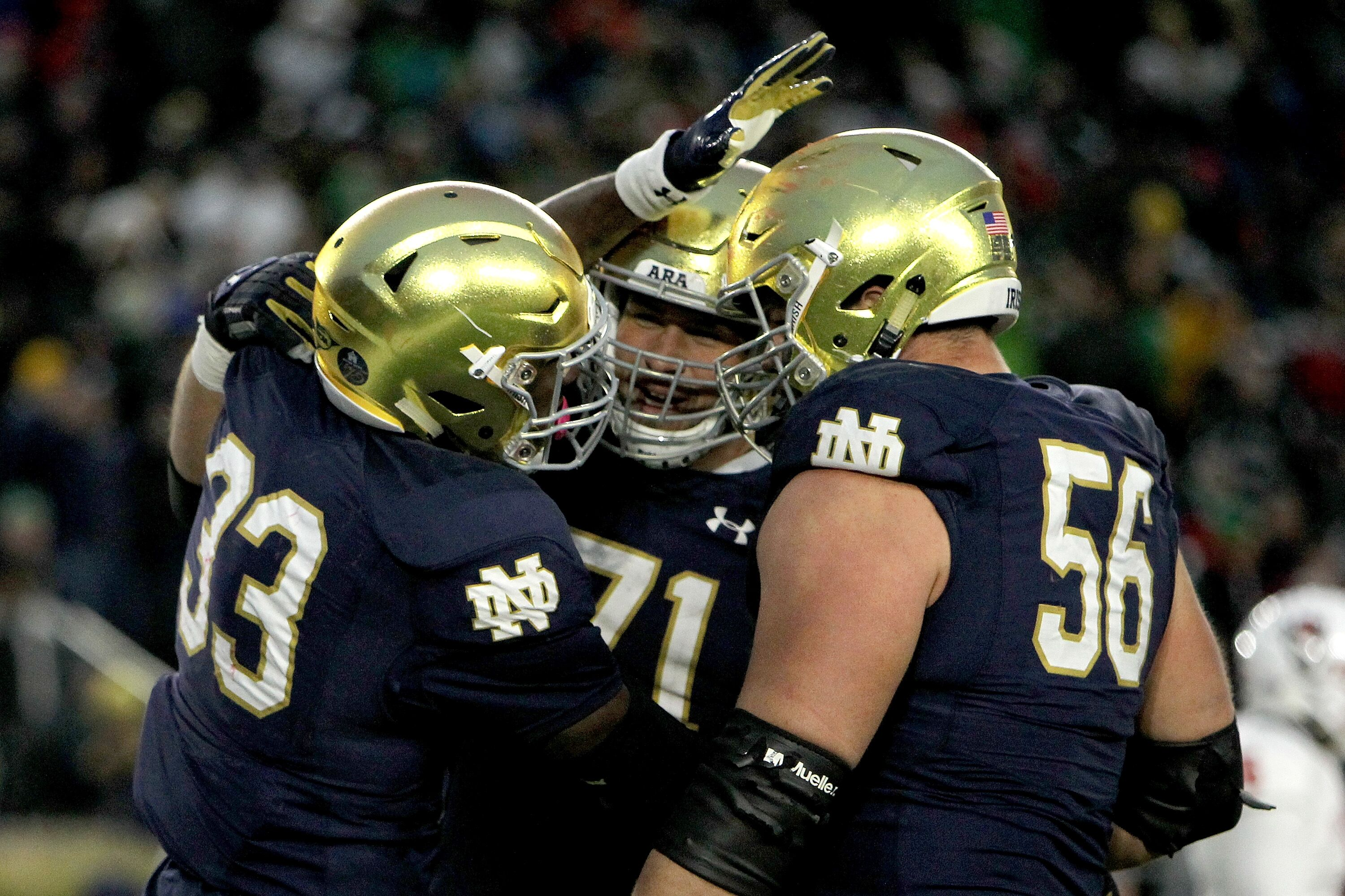 61ef32a3 Quenton Nelson Can't Hide His Desire to Join Chicago Bears