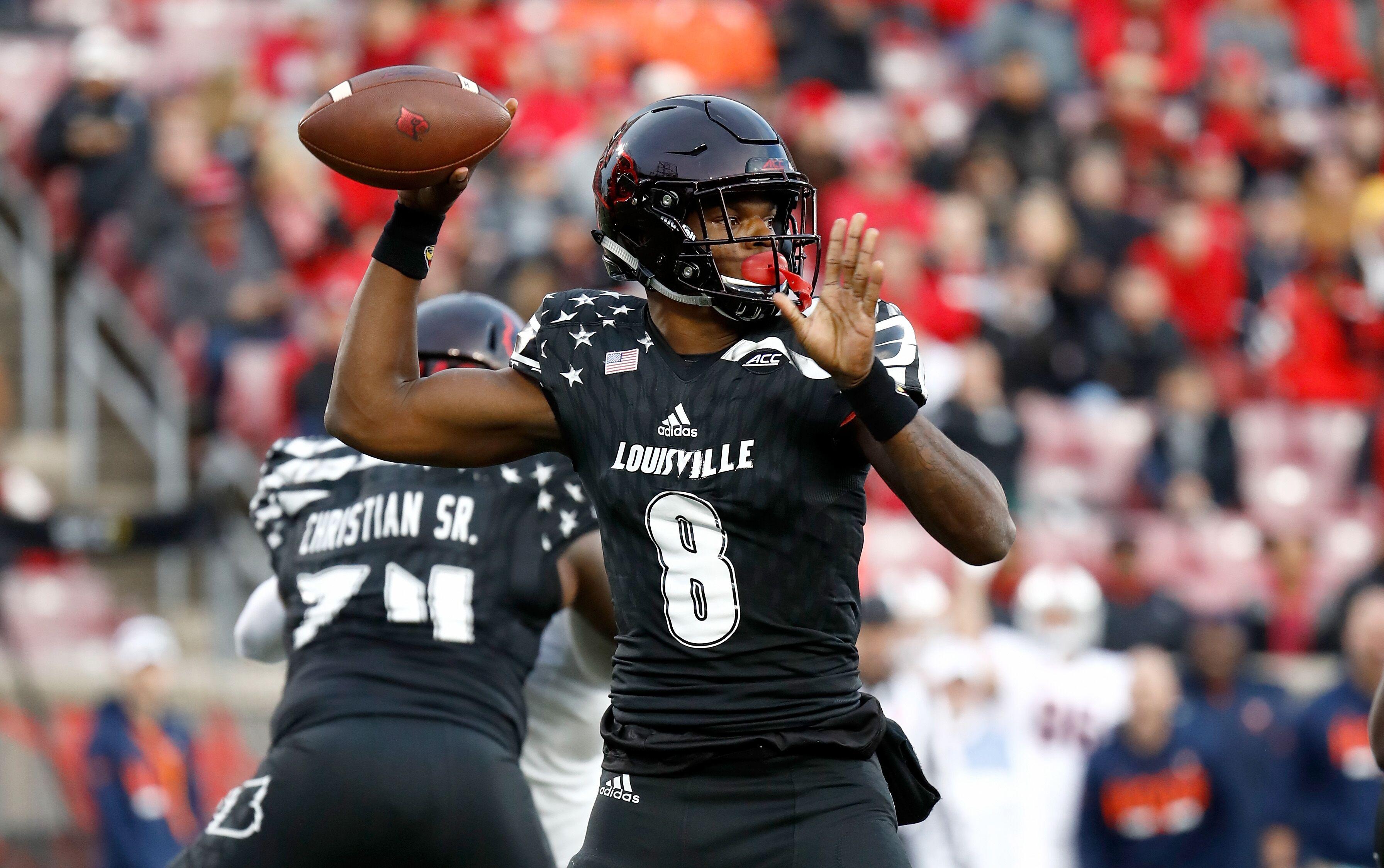 sale retailer 6c9b4 b2a3b 2018 NFL Draft: Lamar Jackson has ridiculous next-level ...