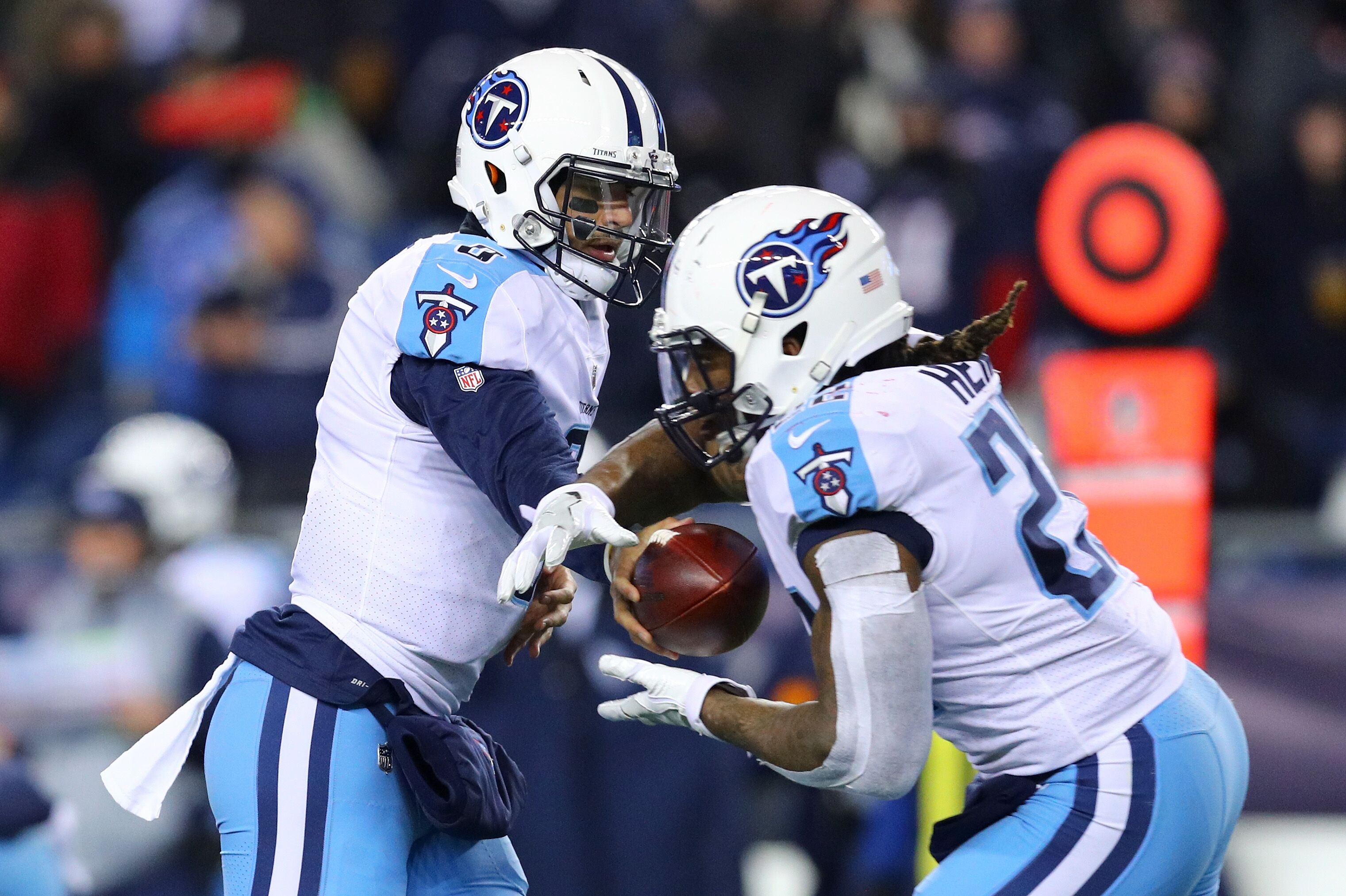 separation shoes 9f101 b40b3 Tennessee Titans 2018 NFL Mock Draft - Seven Rounds