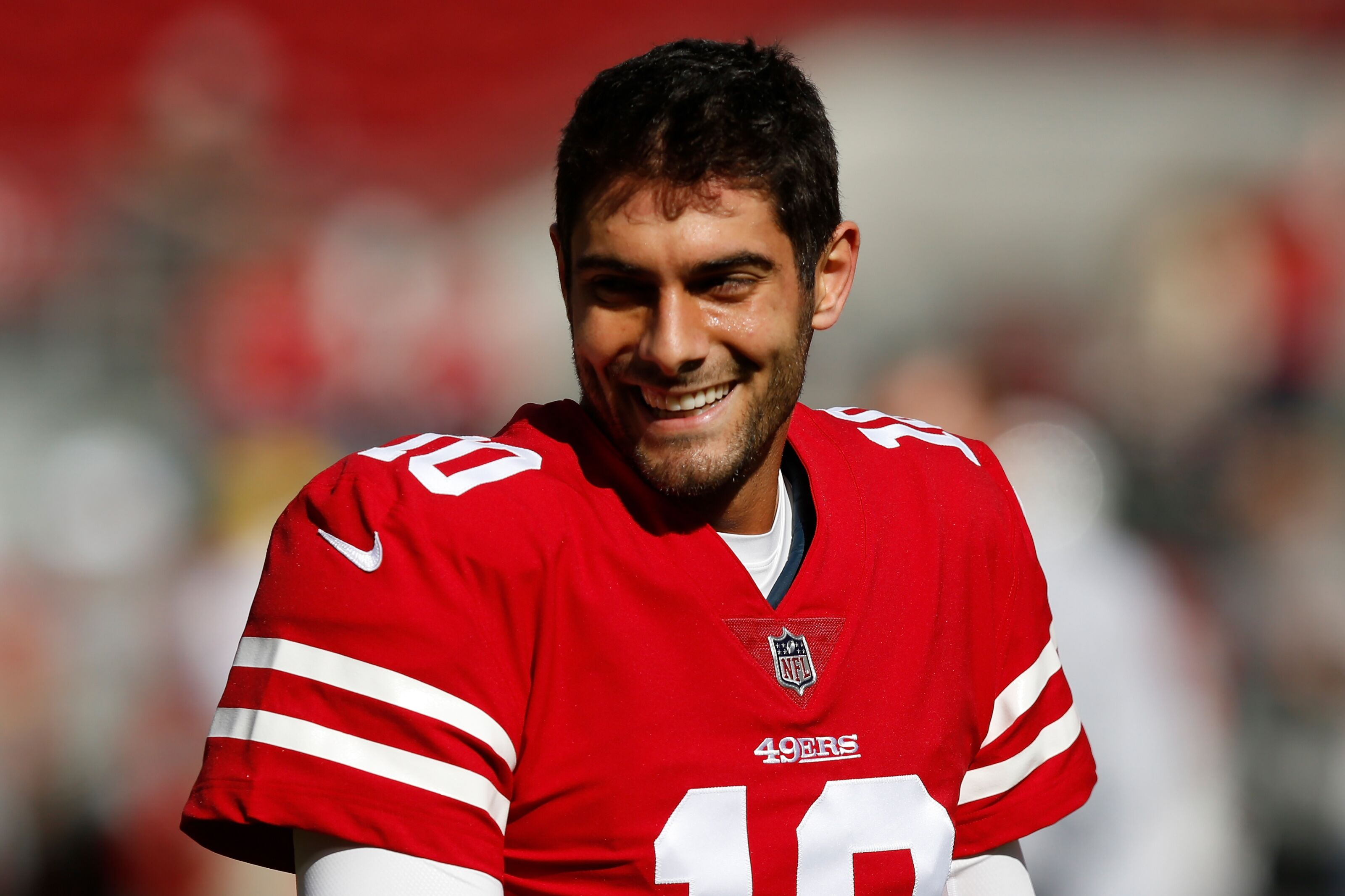 Get the latest news stats videos highlights and more about San Francisco 49ers quarterback Jimmy Garoppolo on ESPNcom