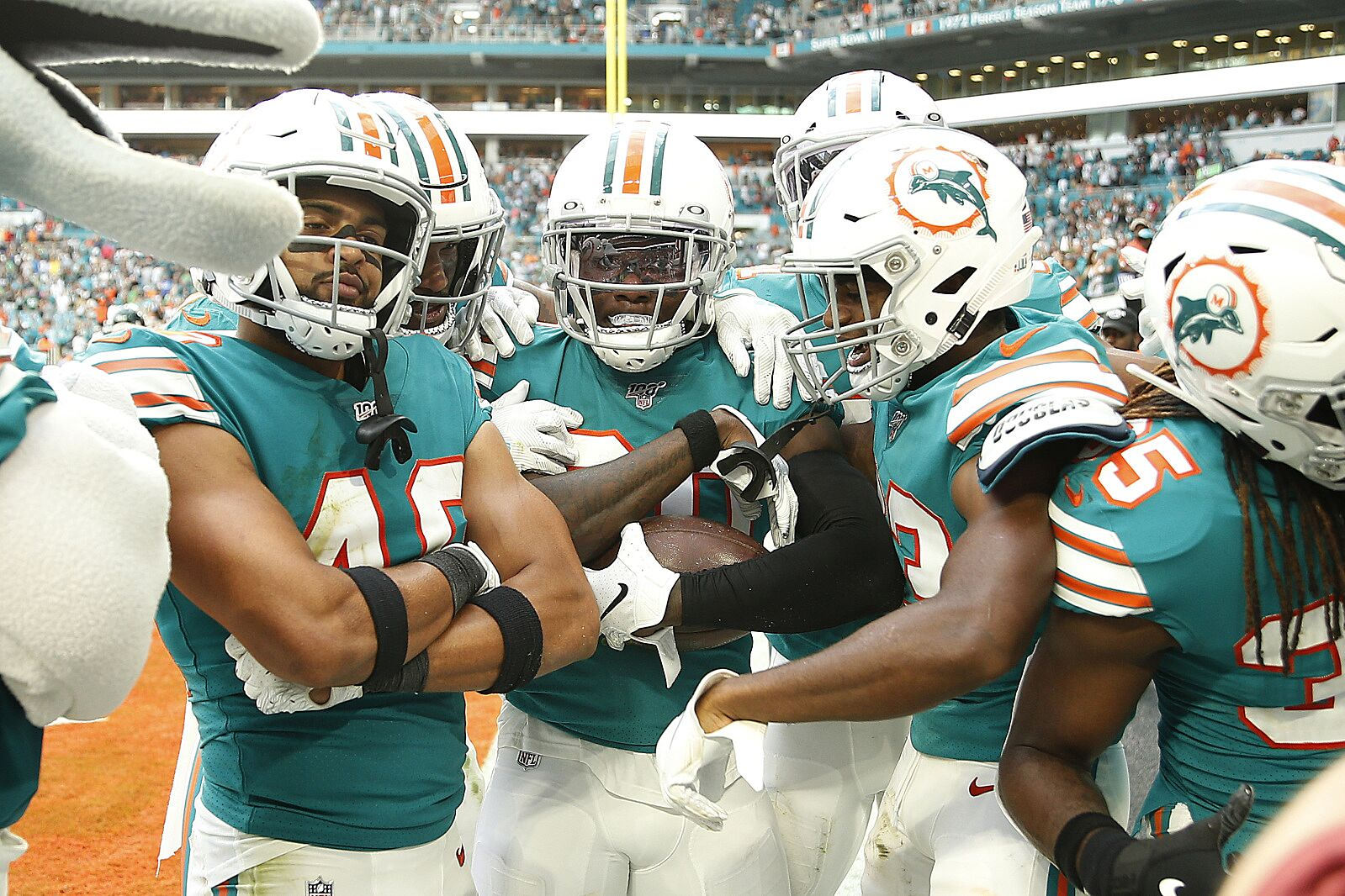 Best Nfl Team 2020.Miami Dolphins Seven Round 2020 Nfl Mock Draft