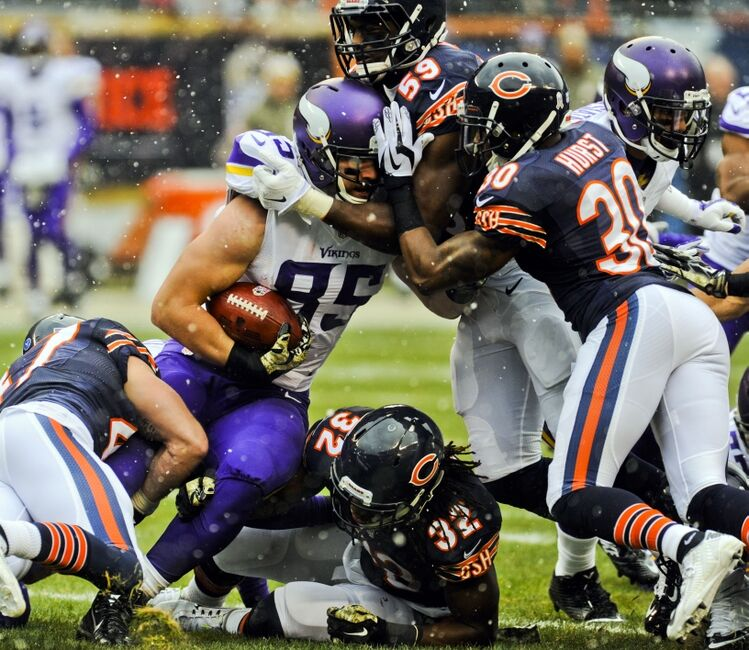 Chicago Bears Roster: Chicago Bears: Can They Stop A Surging Vikings Team?