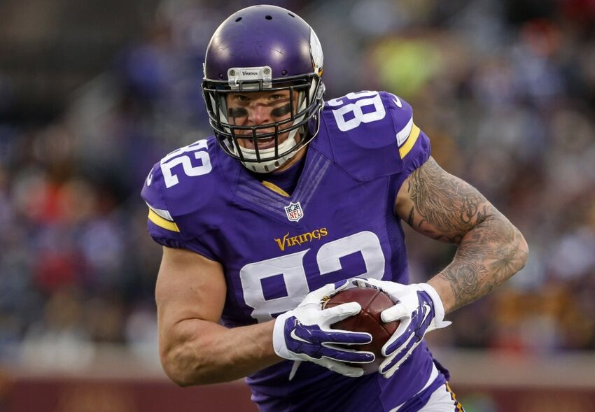 9d386920396 Minnesota Vikings  Kyle Rudolph falling into expectations trap