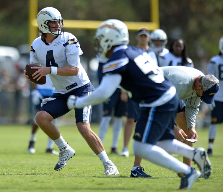 San Diego Chargers Arizona Cardinals: San Diego Chargers: Zach Mettenberger Taking Advantage Of