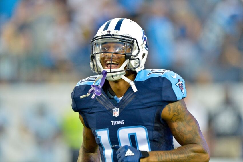 b29aef7b Tennessee Titans: Can Tajae Sharpe lead all rookie wide receivers?