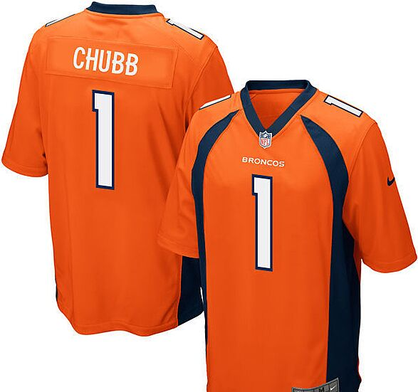 526399740 Bradley Chubb Denver Broncos Nike NFL Draft First Round Pick Game Jersey.  Fanatics