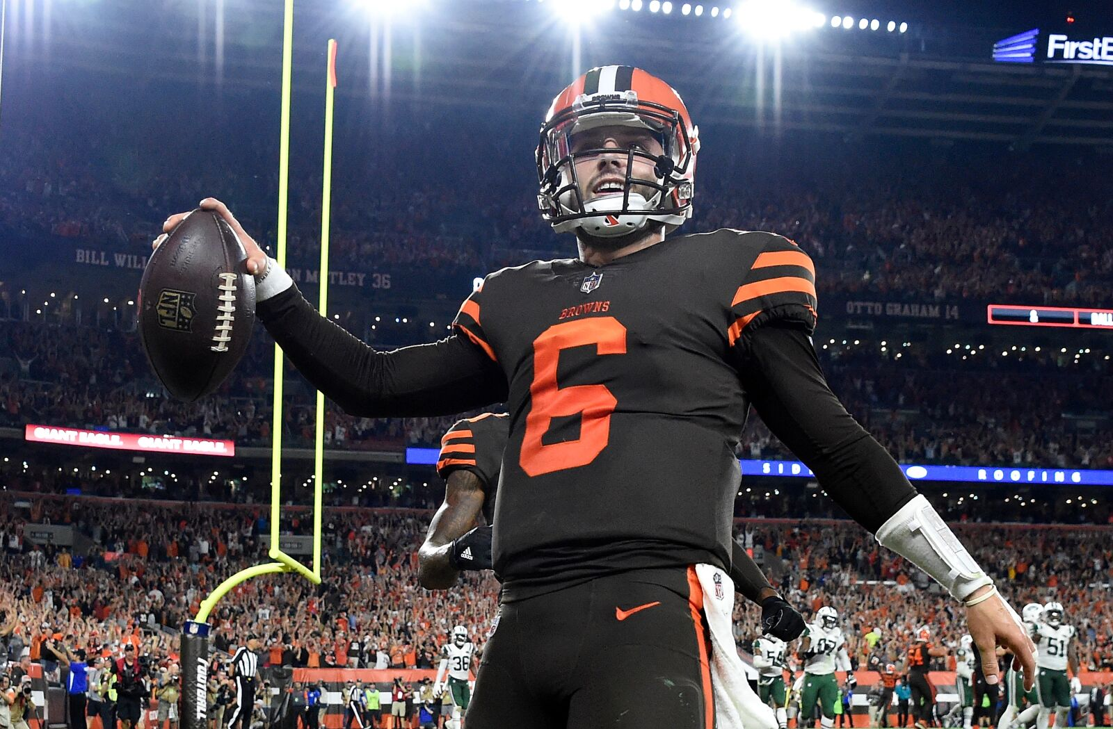 8c1307536 6 Teams That Could Make Playoffs After Missing Last Year. Cleveland Browns  logo