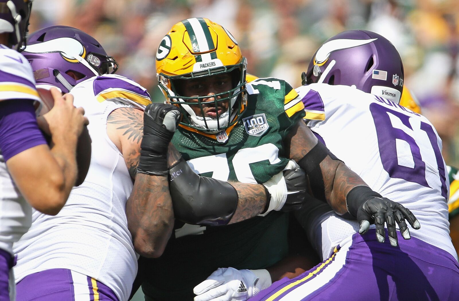 3bf6a8f7 Detroit Lions: Mike Daniels completes big offseason for defense