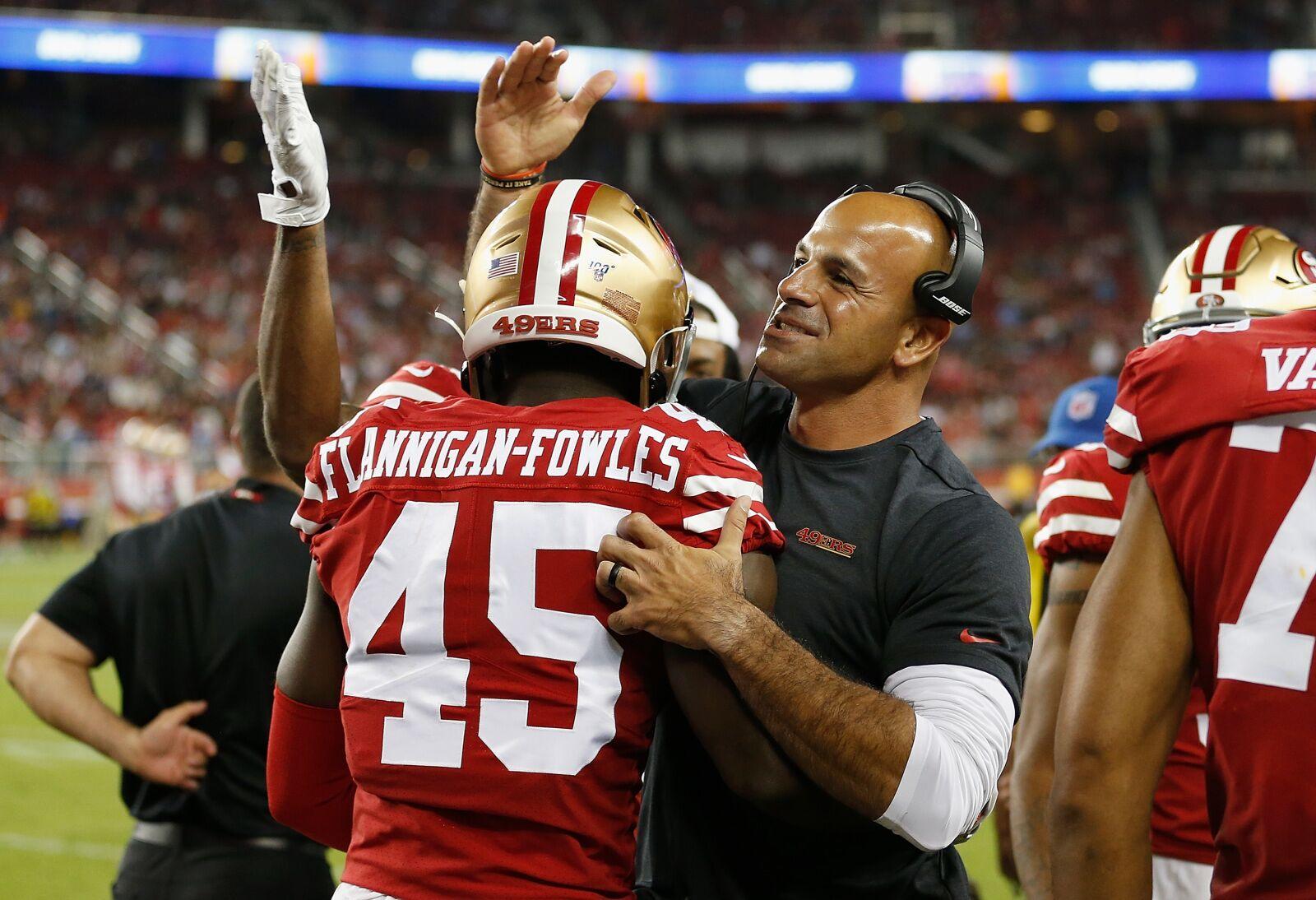 San Francisco 49ers: Robert Saleh not underestimating Chiefs' speed