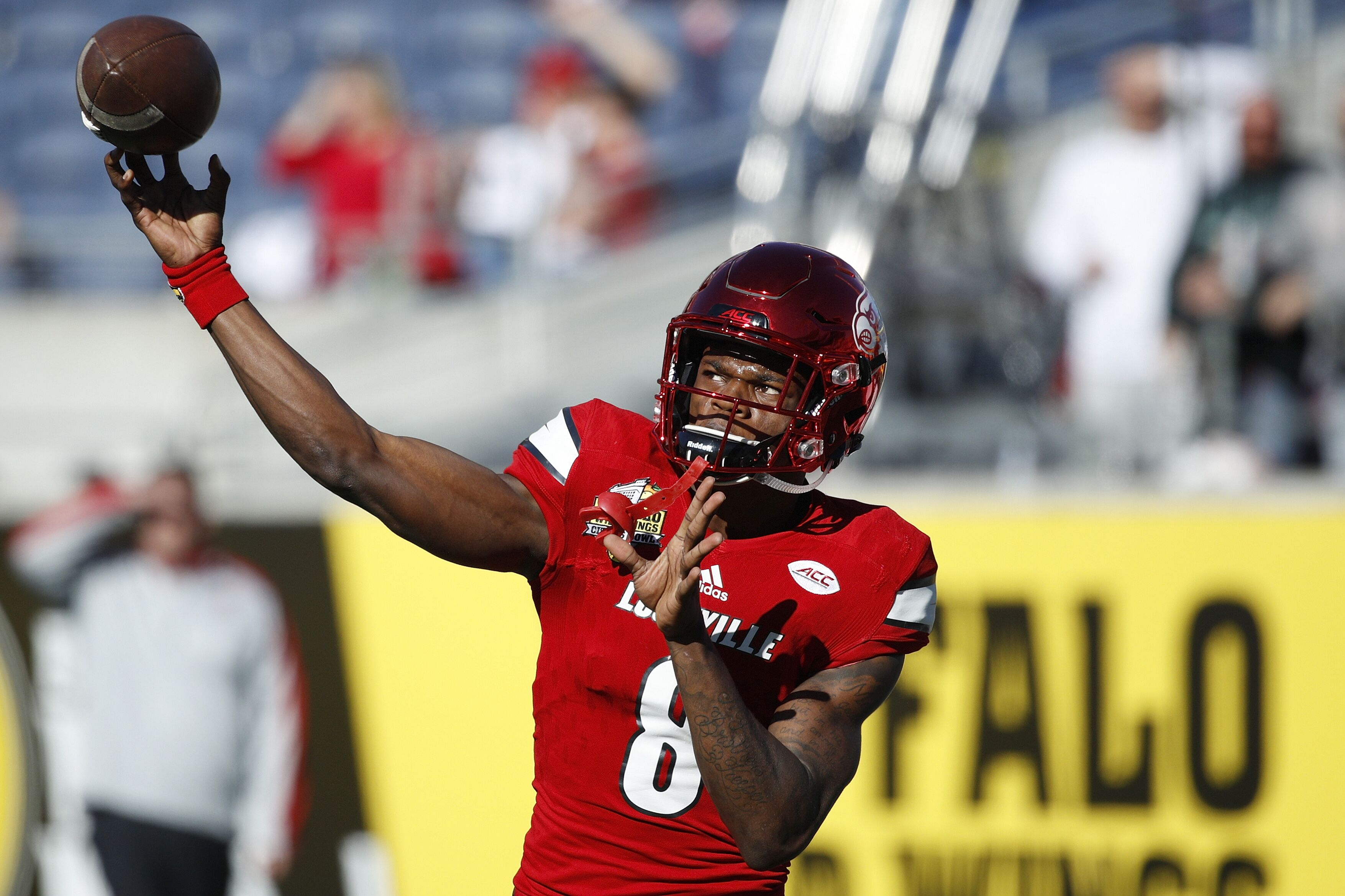 739209f43619 2018 NFL Draft: Mike Vick compares Lamar Jackson to himself