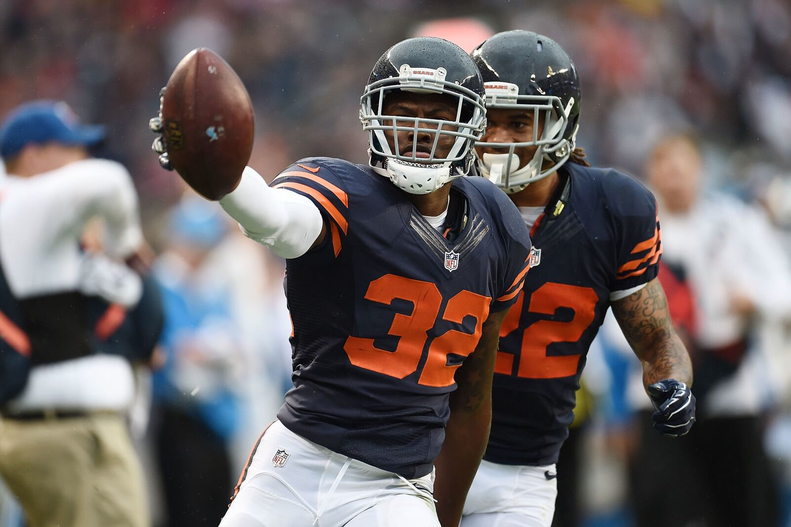 best cheap eede9 ffef4 Chicago Bears: Deon Bush, Deiondre' Hall have a lot to prove