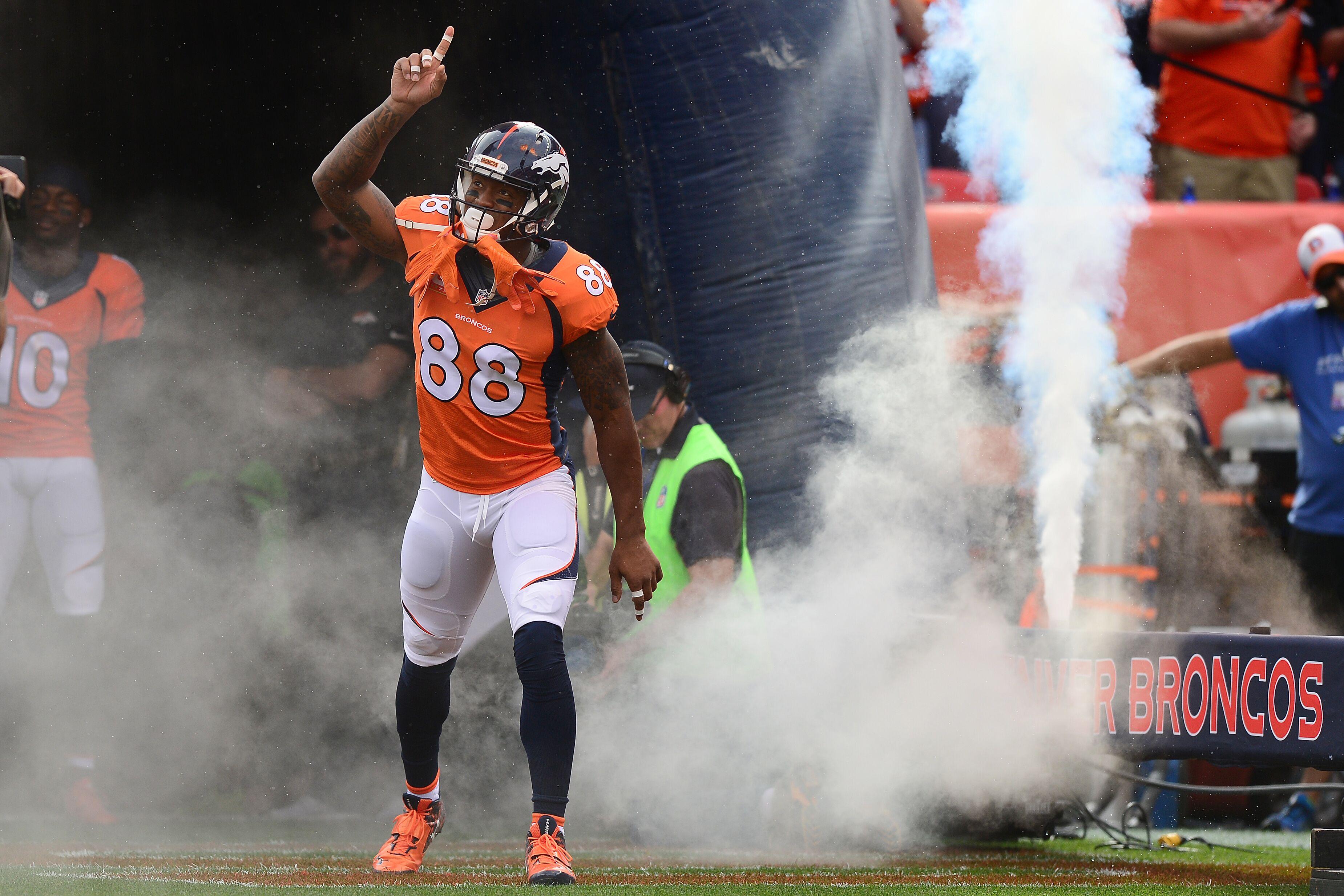 Denver Broncos What s Demaryius Thomas value in fantasy football