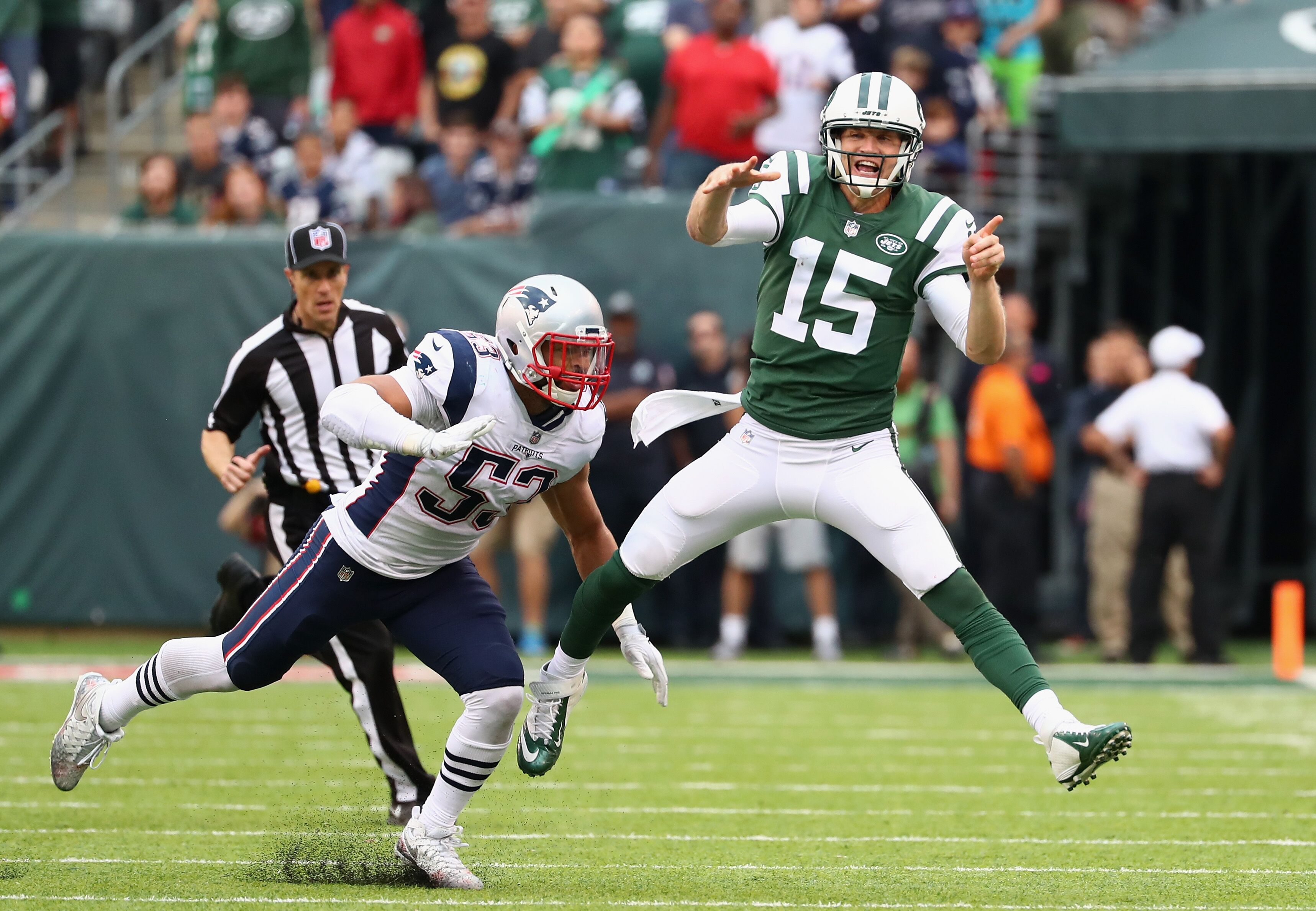 history of jets vs patriots