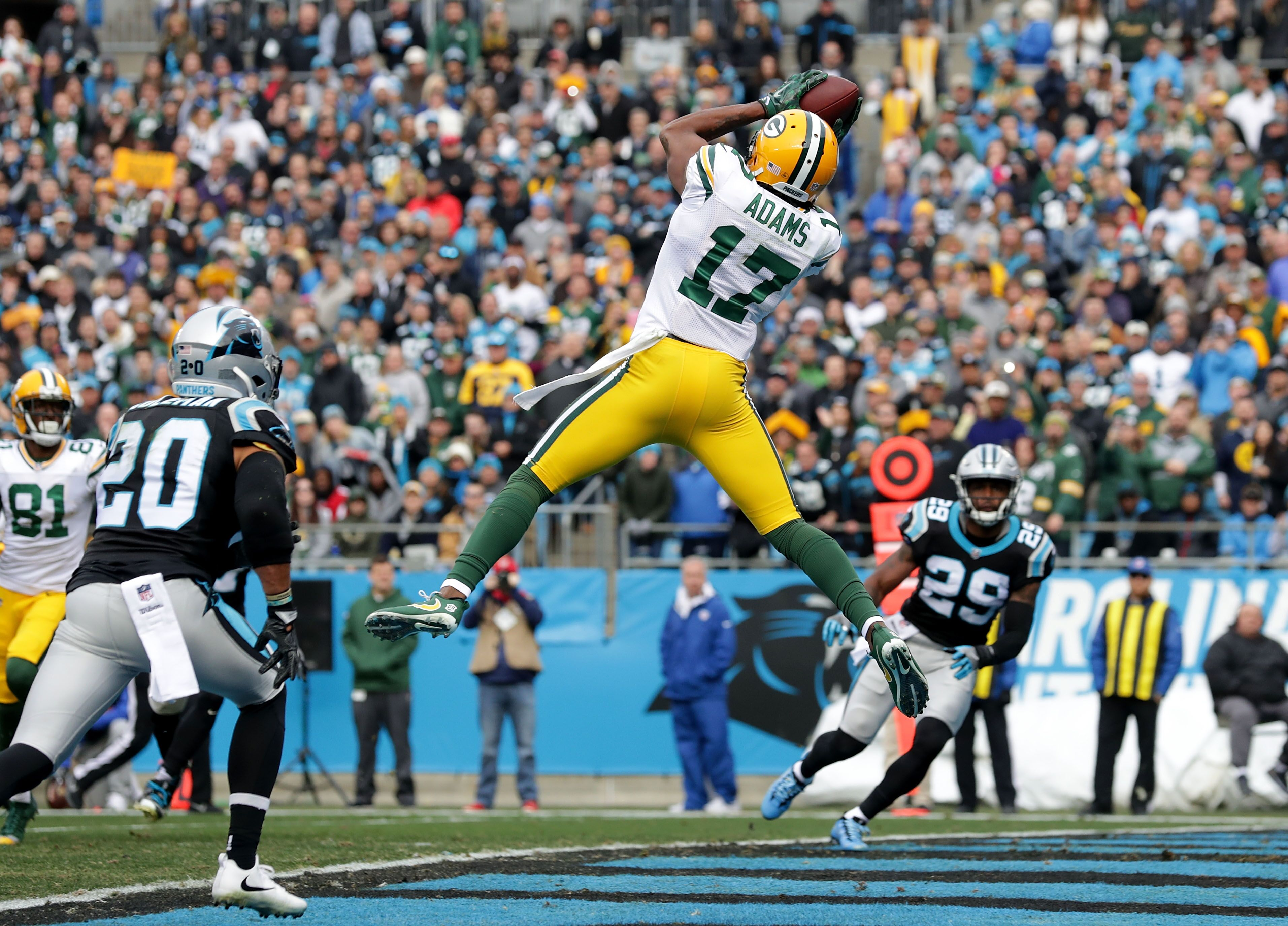 The Panthers Score >> Green Bay Packers: Davante Adams is the undisputed team MVP