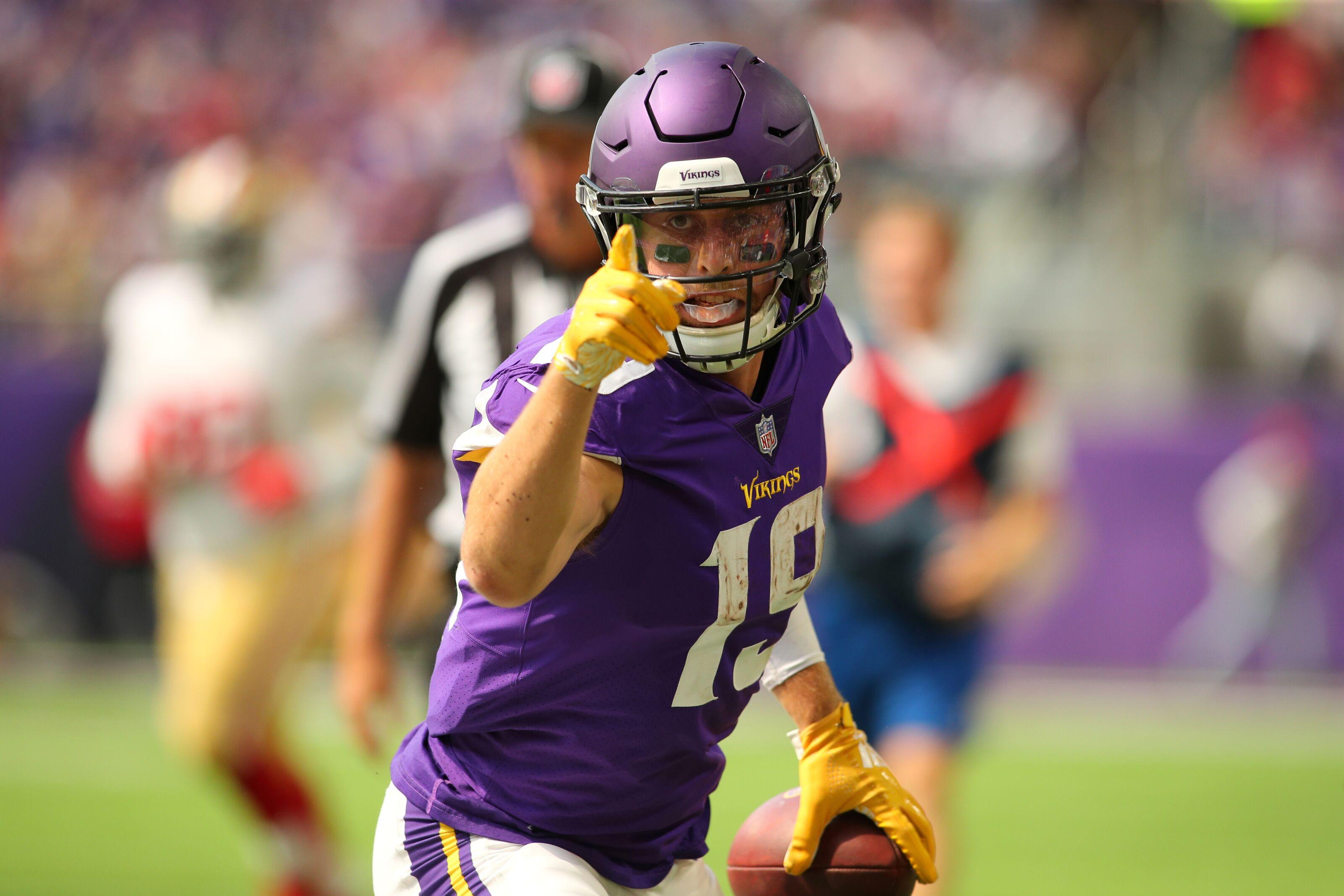 2cd6b99fcc4 Minnesota Vikings: Time to consider Adam Thielen a top-five receiver
