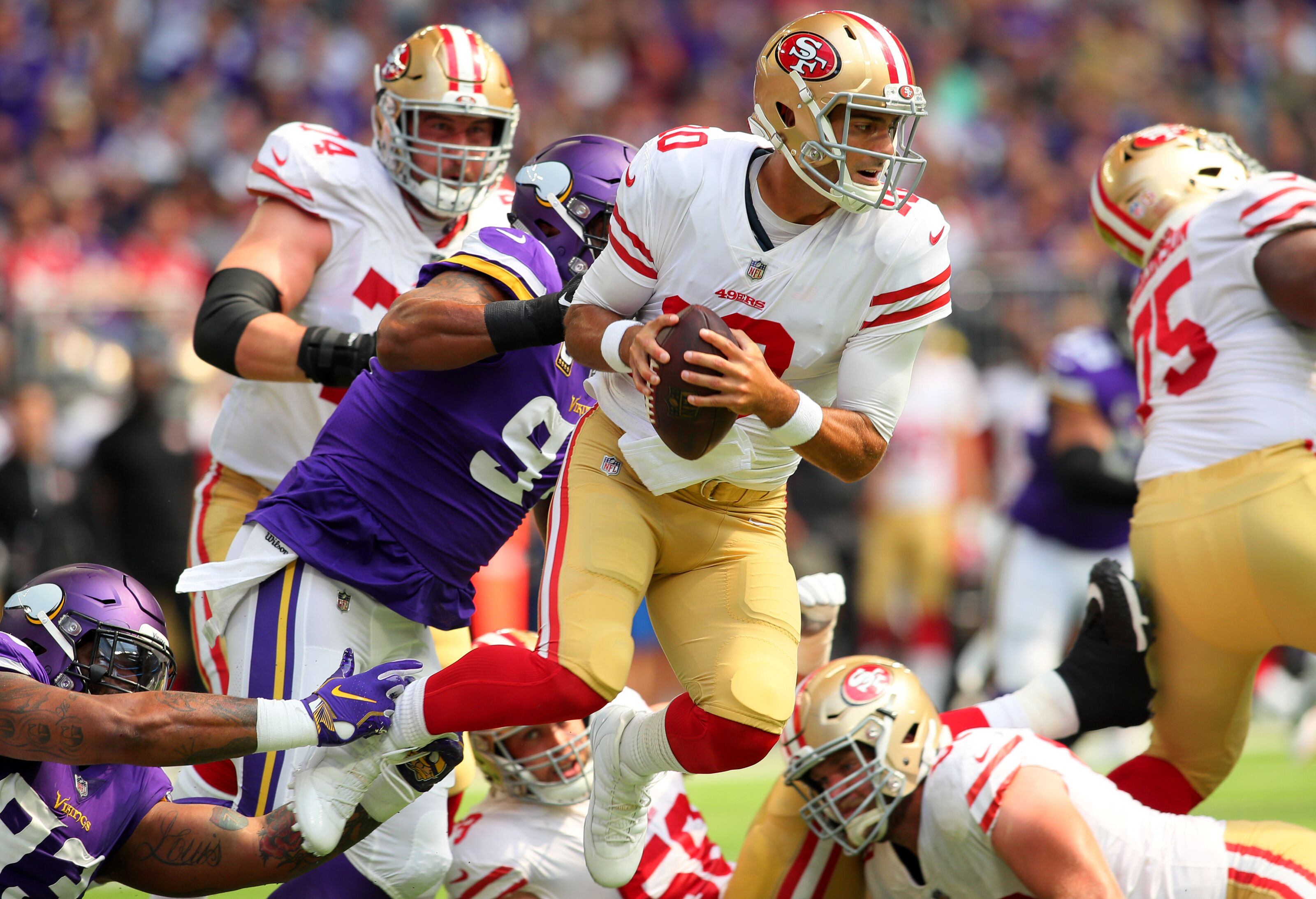 e883801f3 San Francisco 49ers: 3 Big takeaways from loss vs. Vikings in Week 1