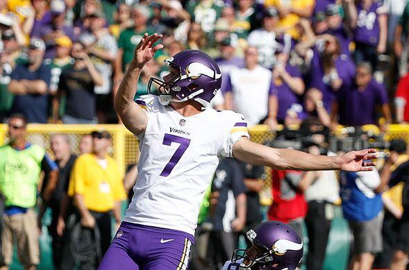 huge discount f75dc 4ce57 Minnesota Vikings: Top options to replace kicker Daniel Carlson